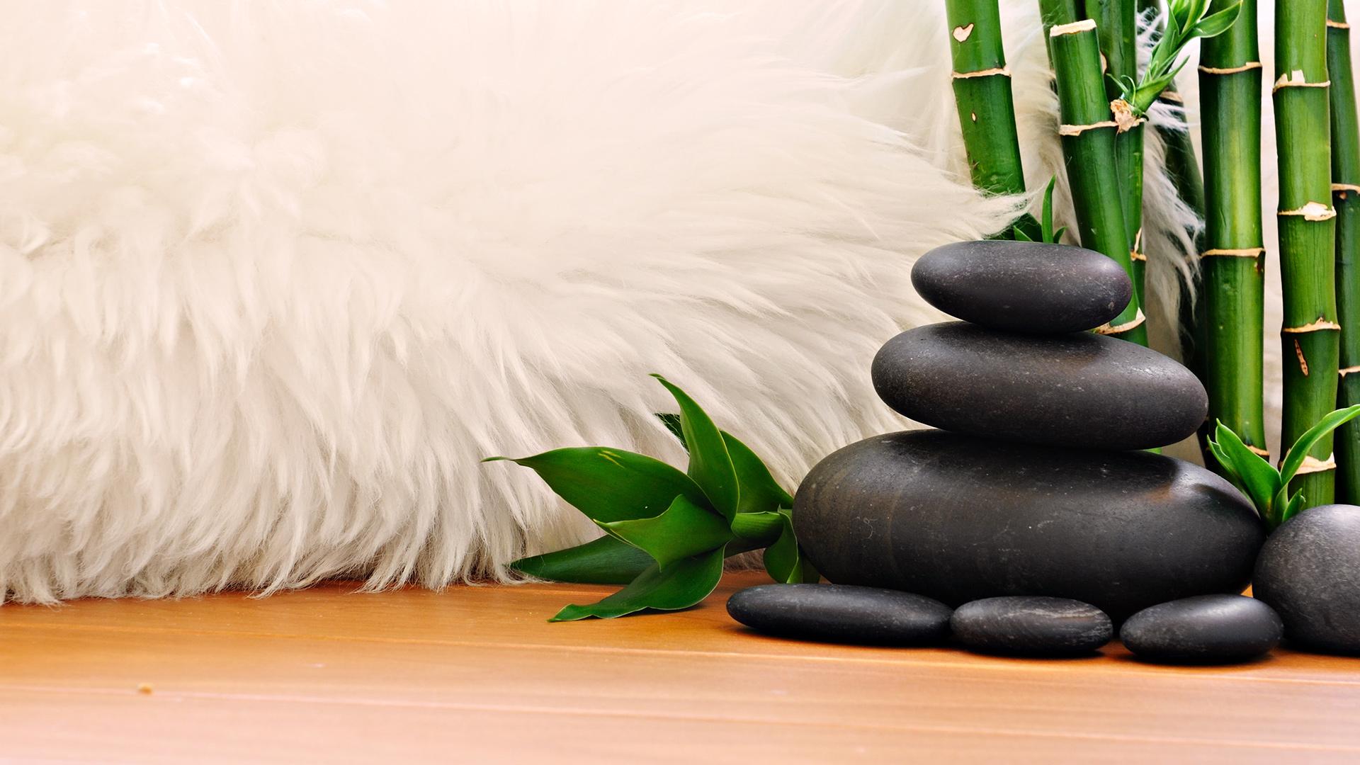 бамбук камни вода фото высокого разрешения