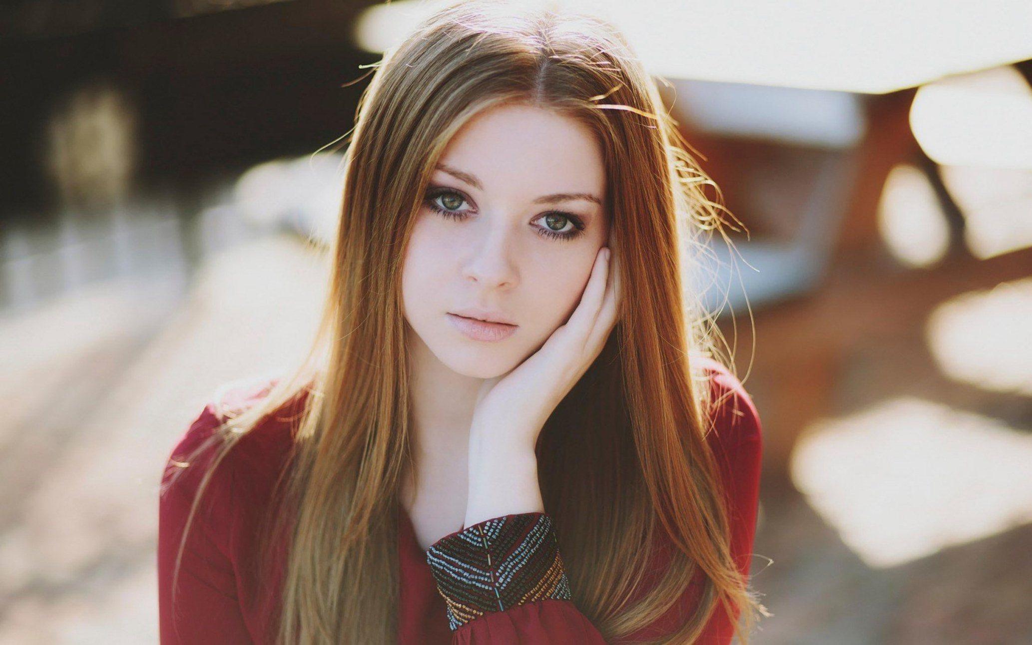 Фото девушек с русыми волосам