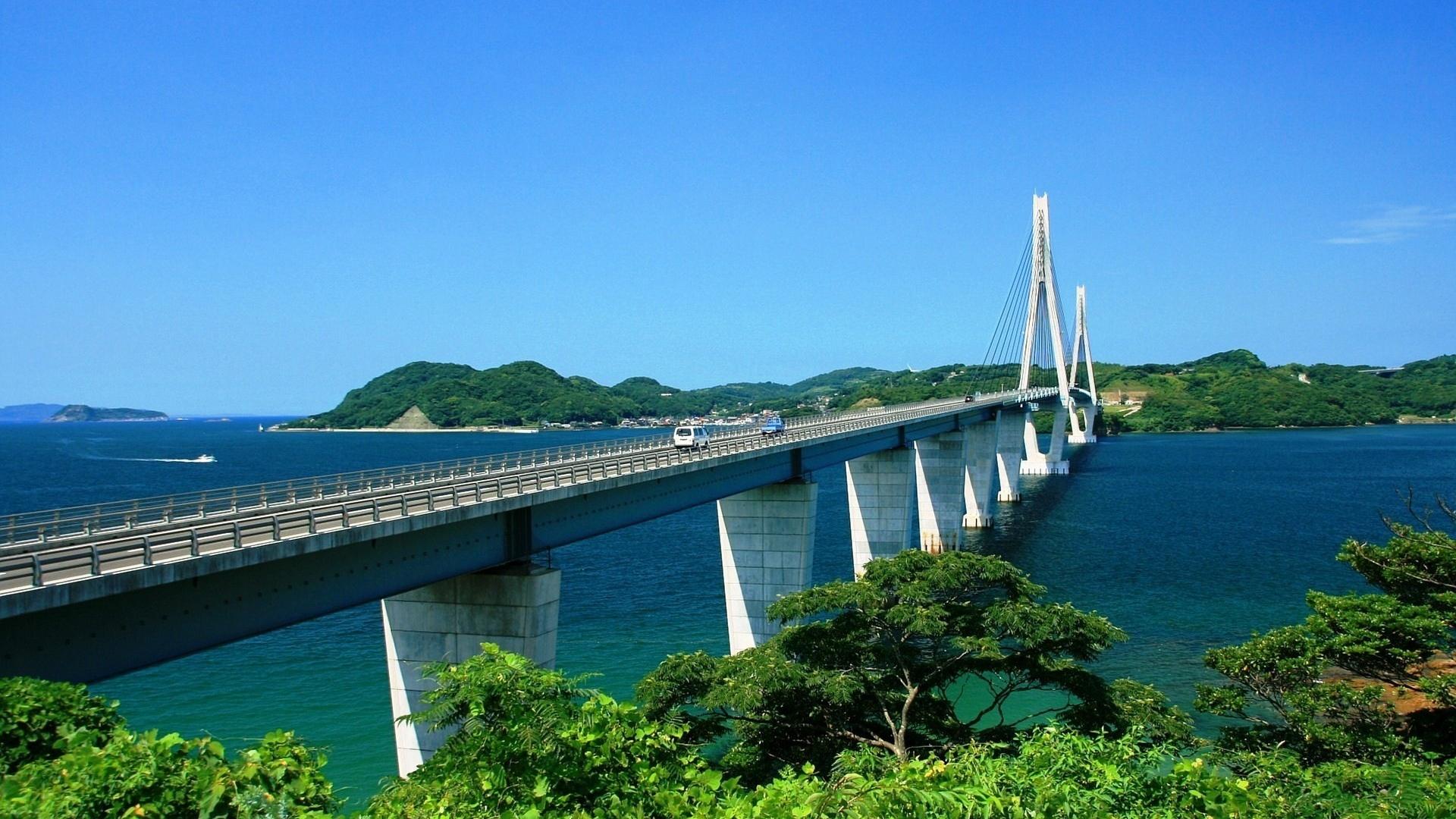 Город мост через реку  № 3713201 загрузить