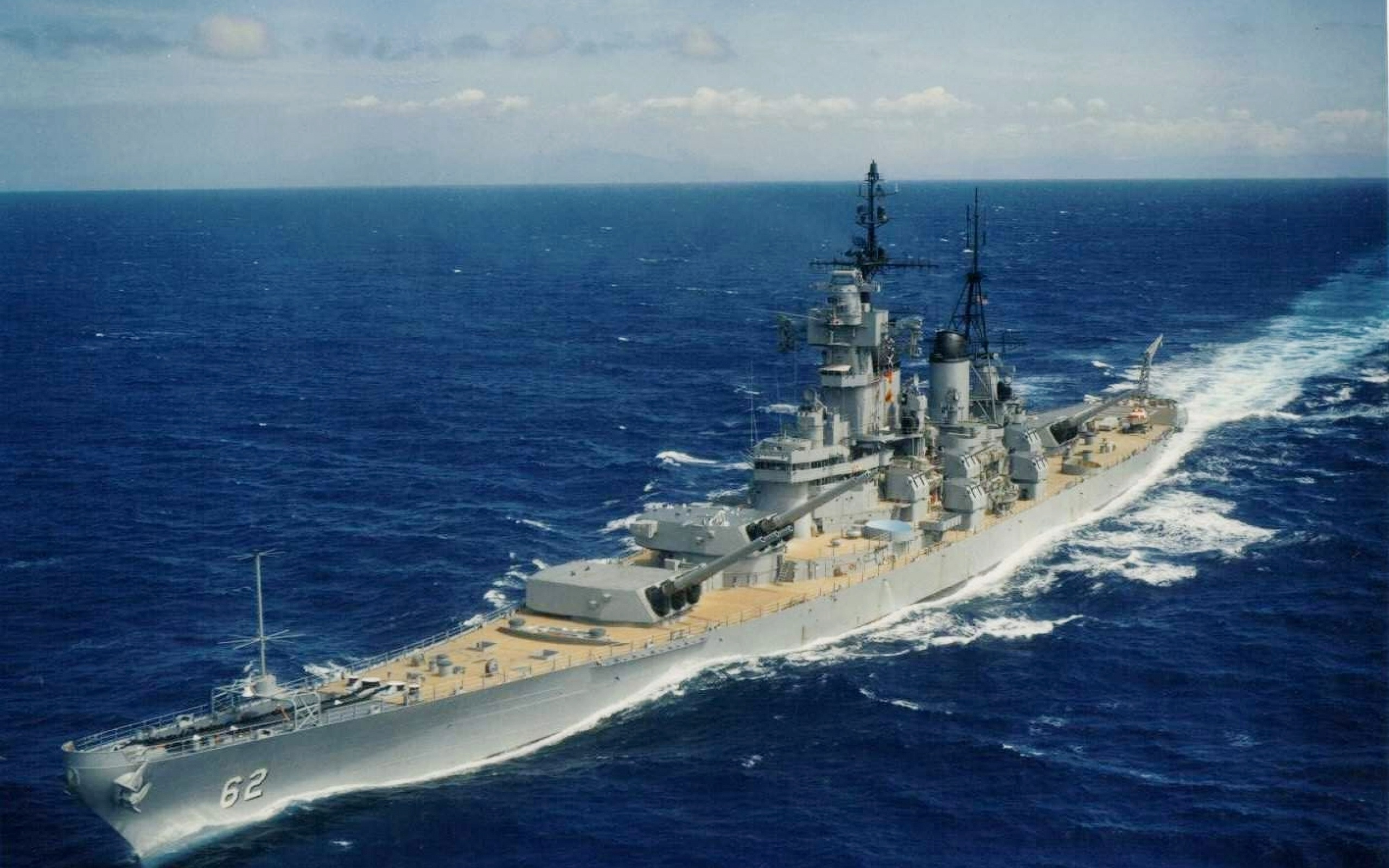 a look at the american naval fighting ship new jersey