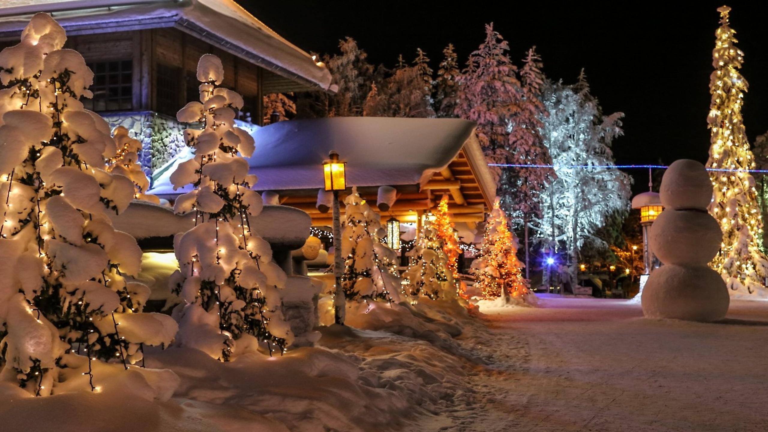 Зимние картинки с новым годом красивые