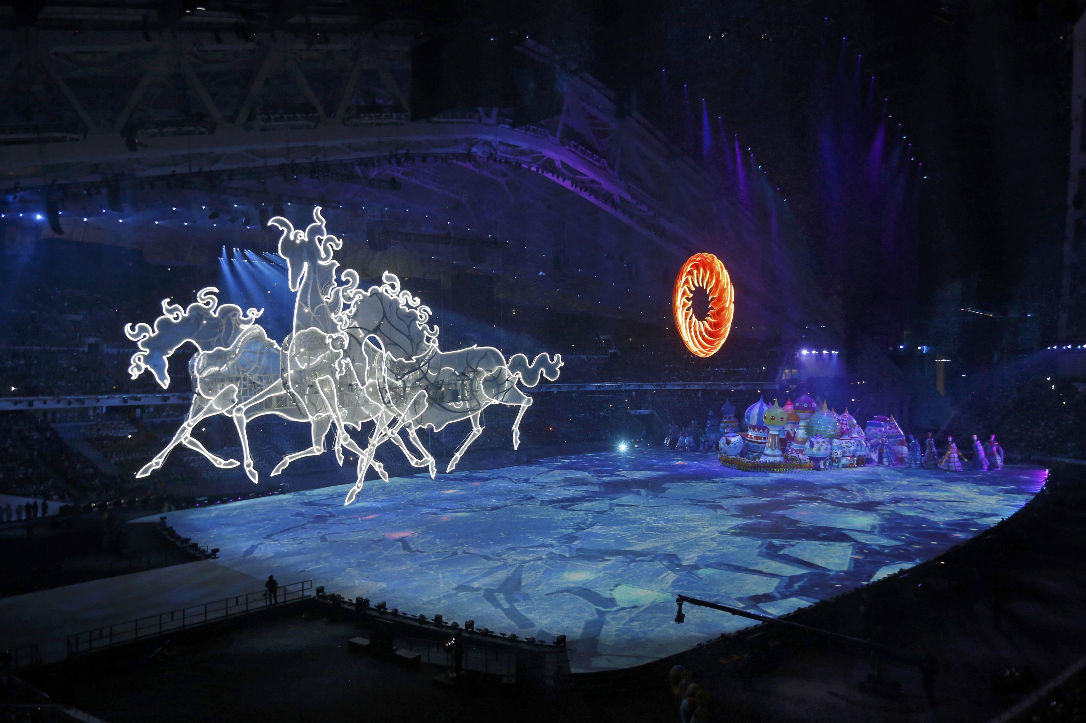 Картинки с олимпиады сочи 2014, день