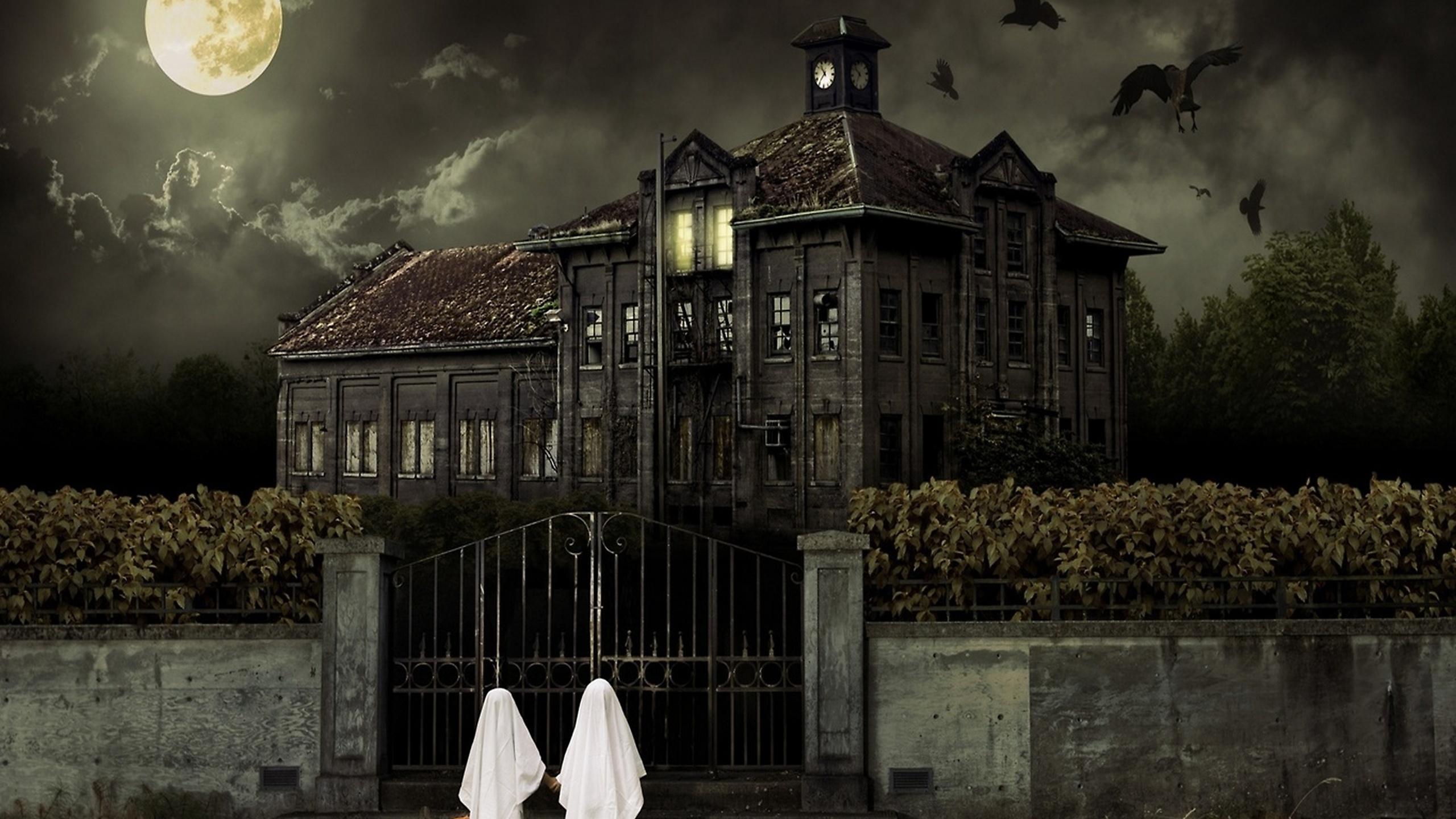 Haunted house  № 587600 бесплатно