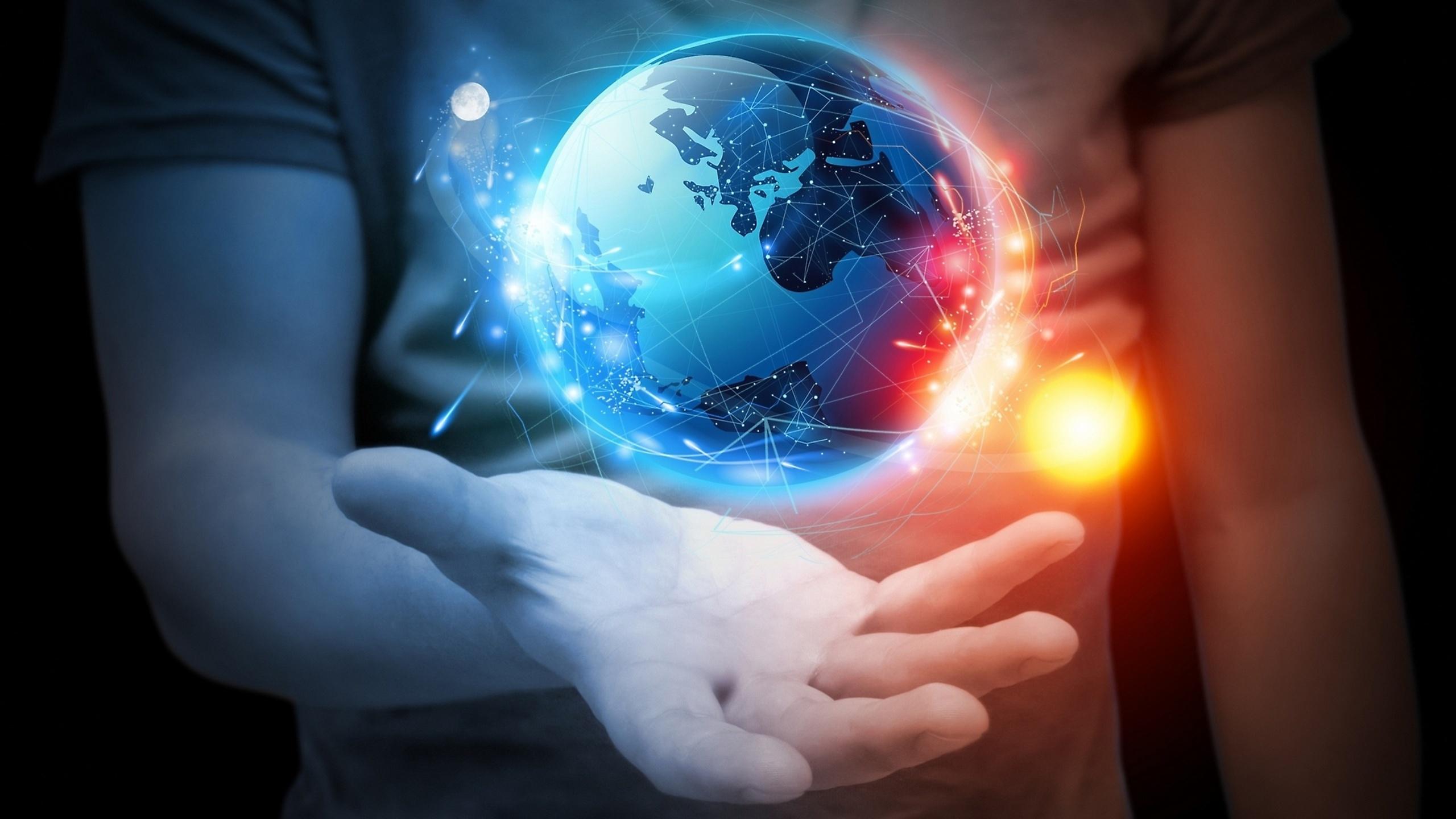 Как сделать энергетический шар в руках видео