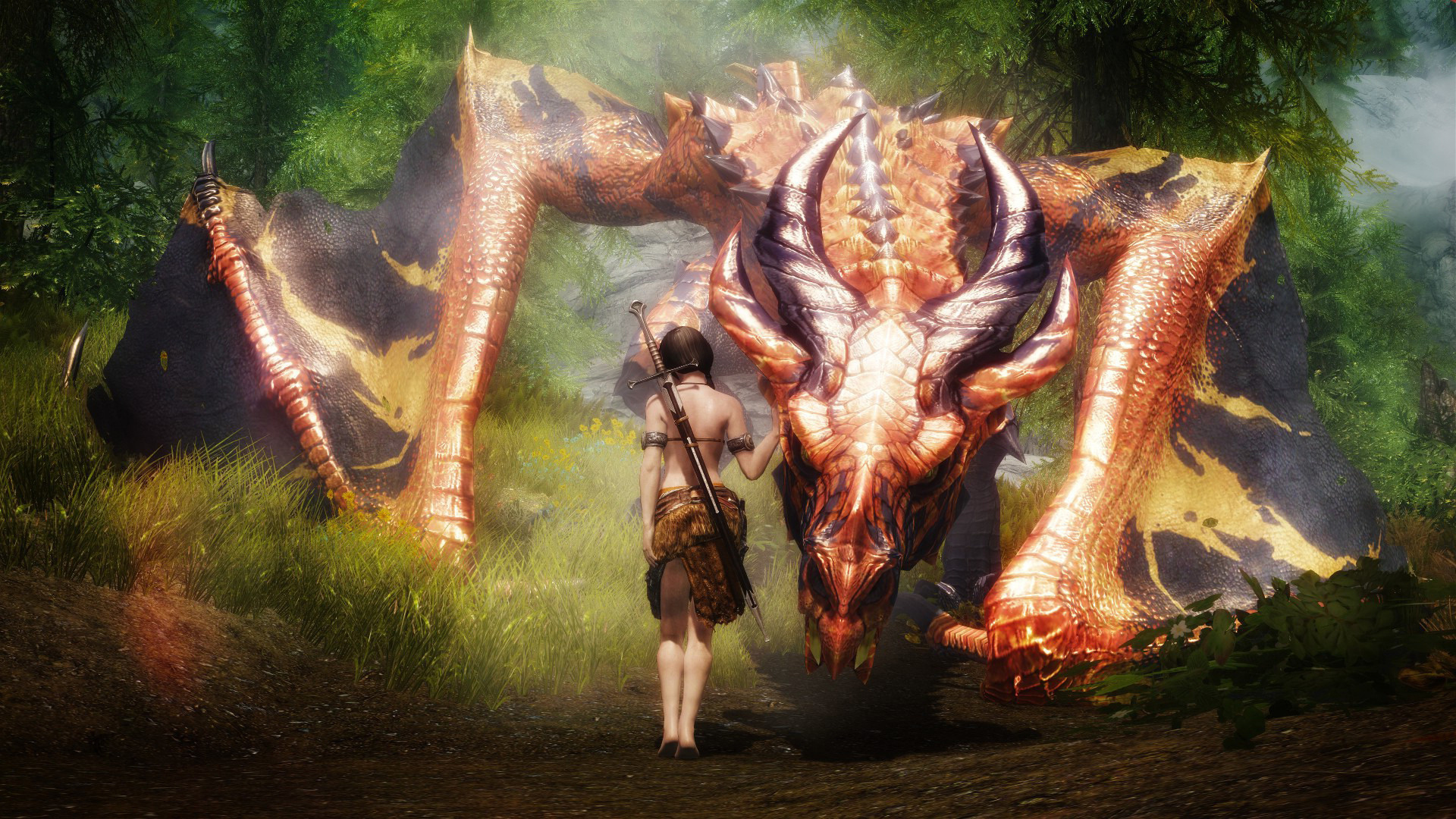 Дракон девушка без смс