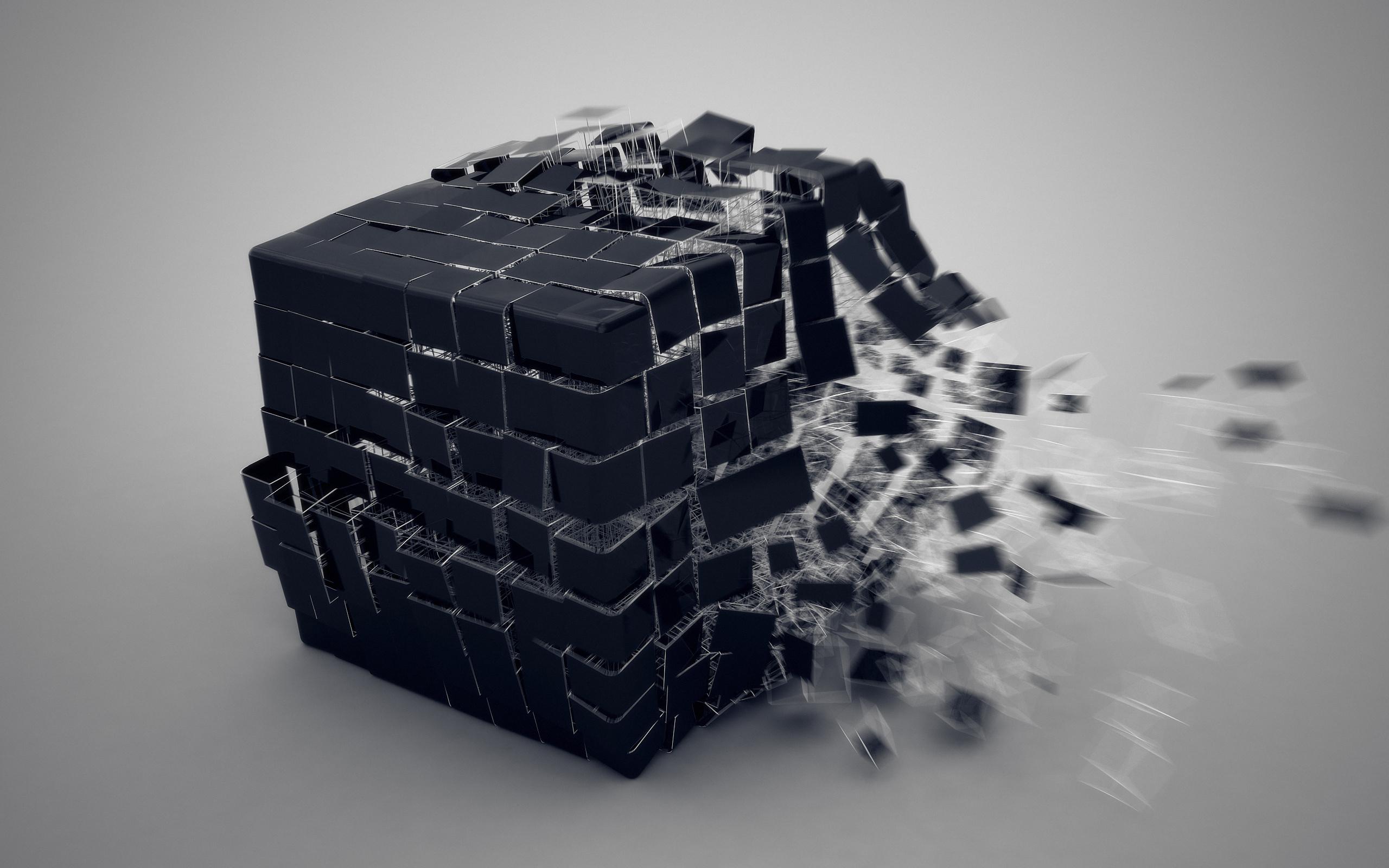куб 3D загрузить