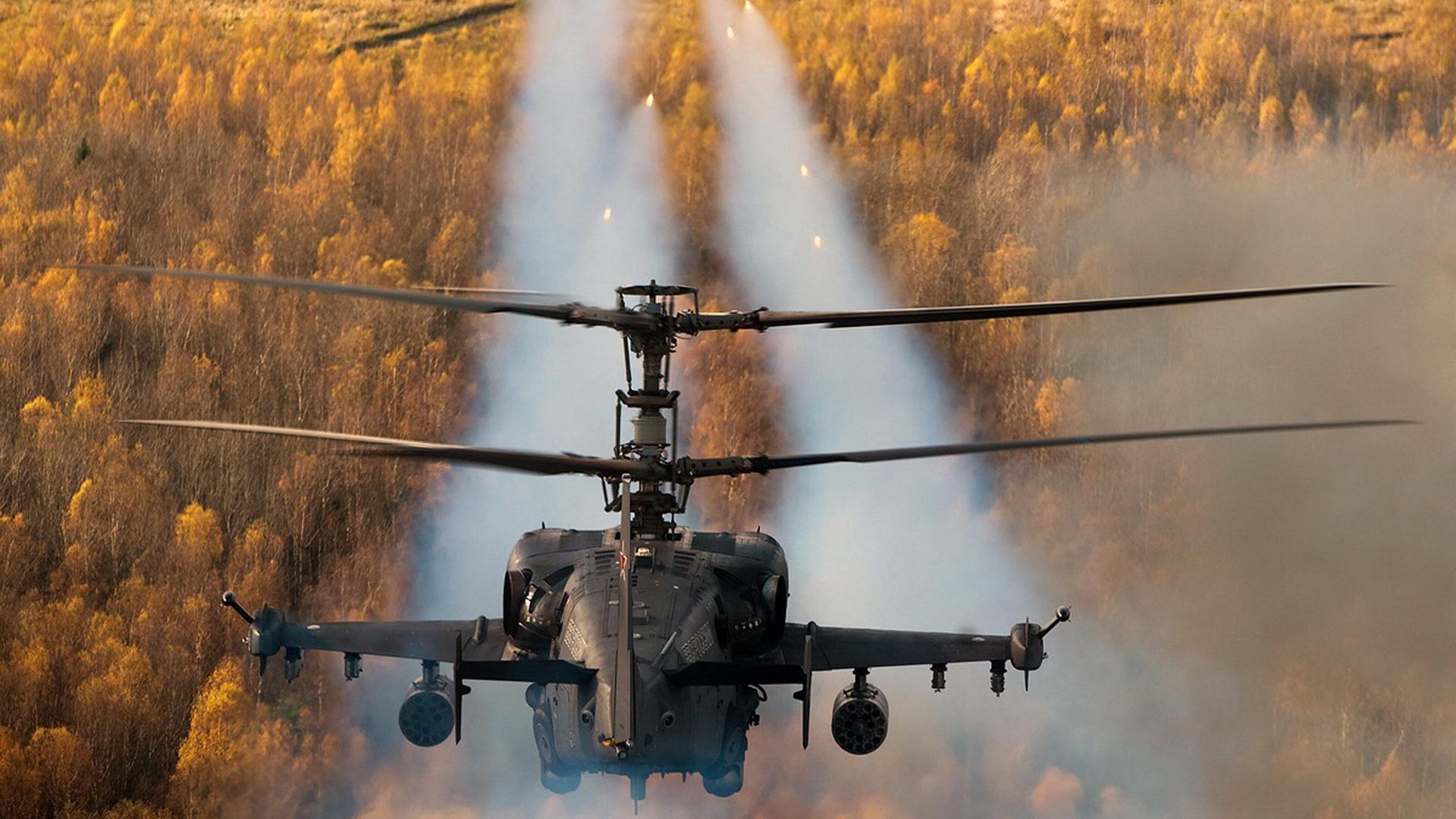 Обои ударный, российский, «аллигатор», Ка-52. Авиация foto 17
