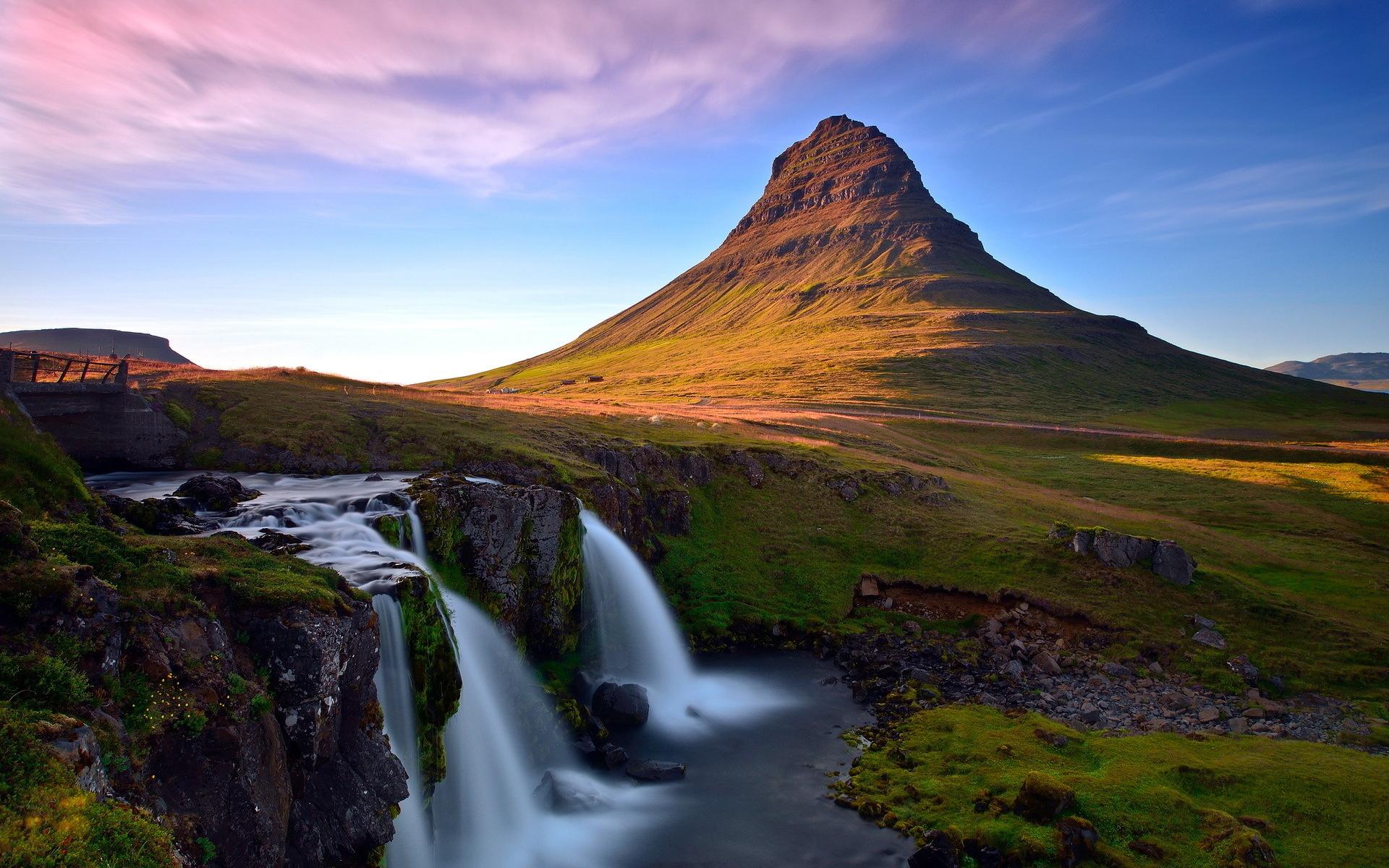 водопад горы  № 2560968 загрузить
