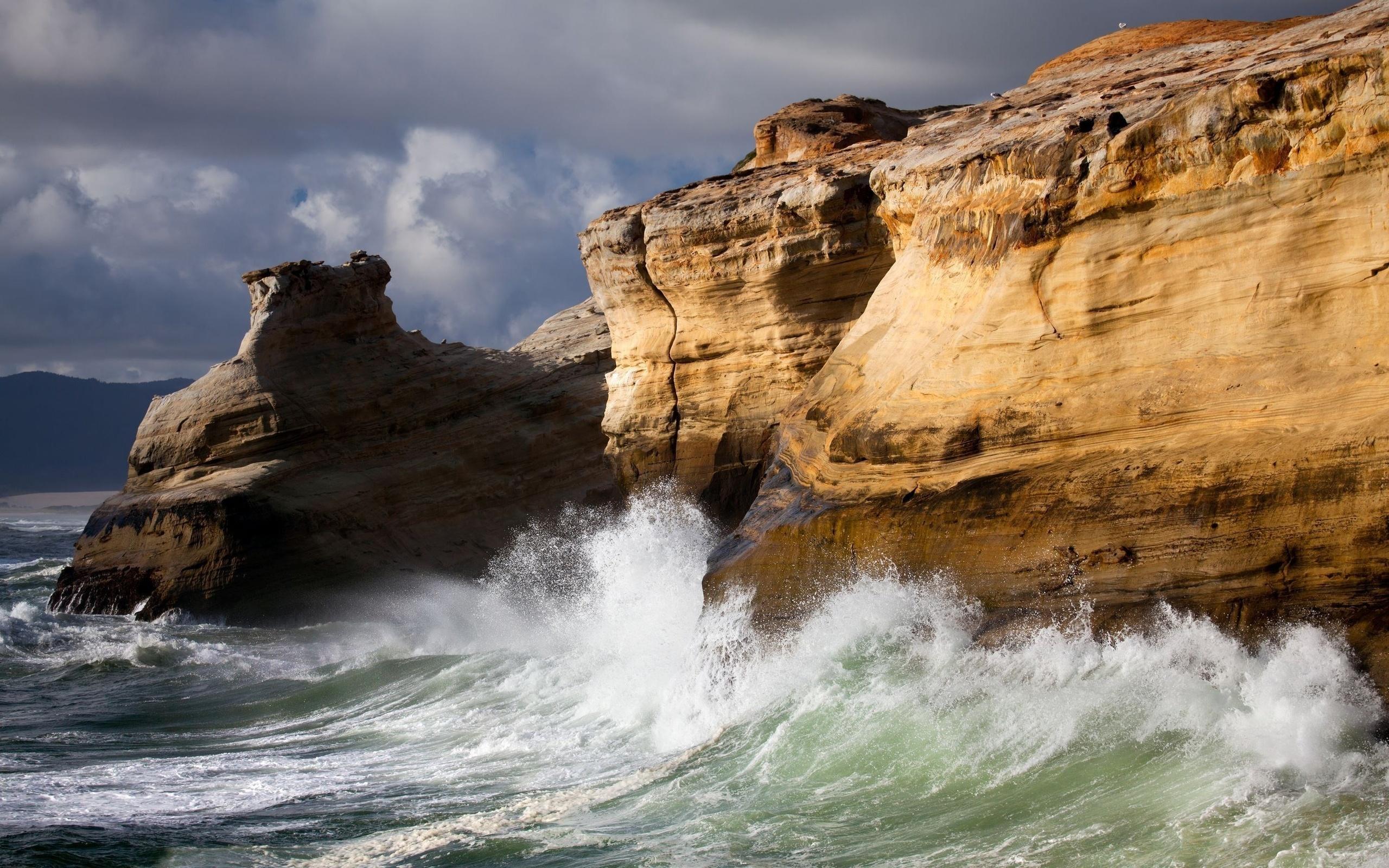 скала утес море rock cliff sea без смс