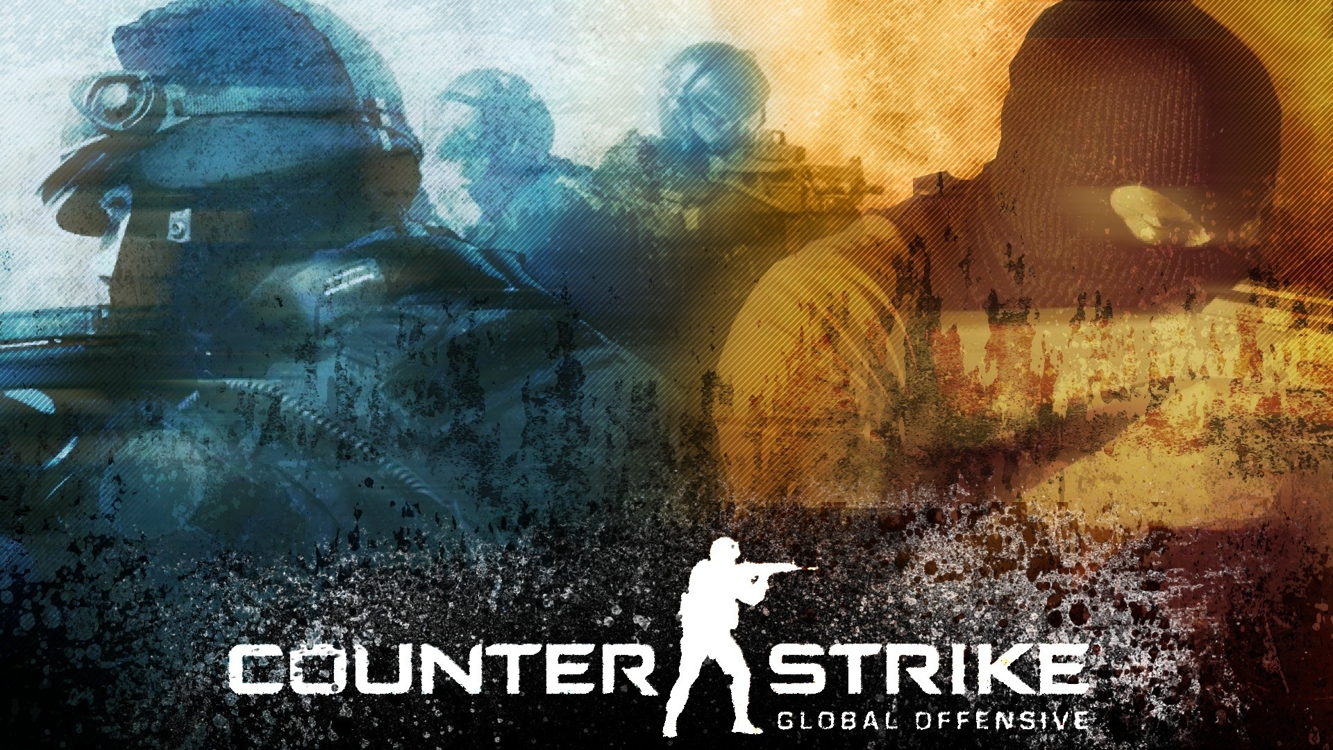 графика логотип Counter Strike graphics logo в хорошем качестве