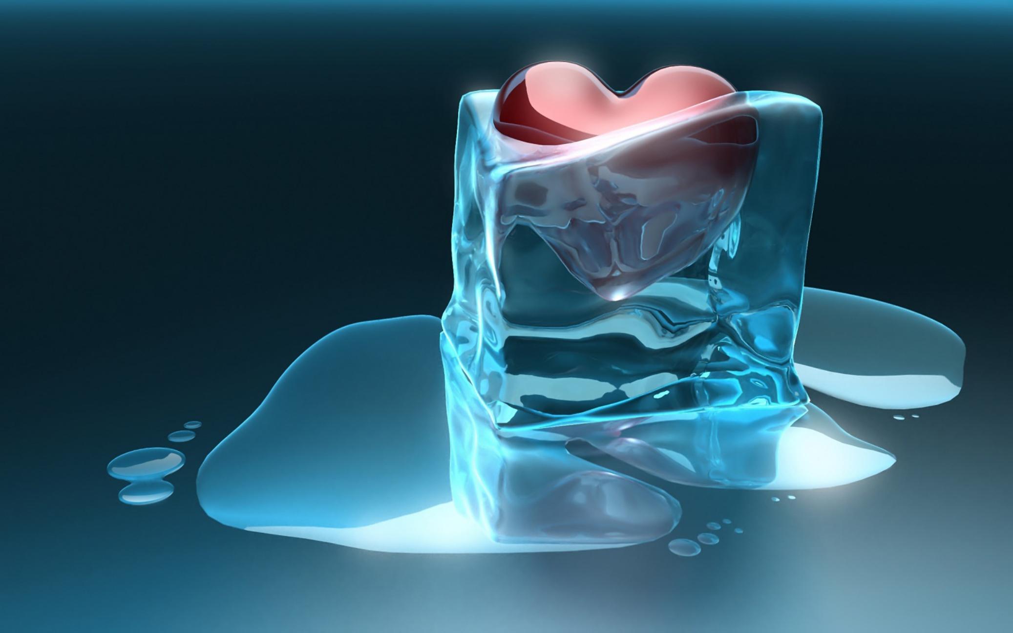 Картинка лед и сердце