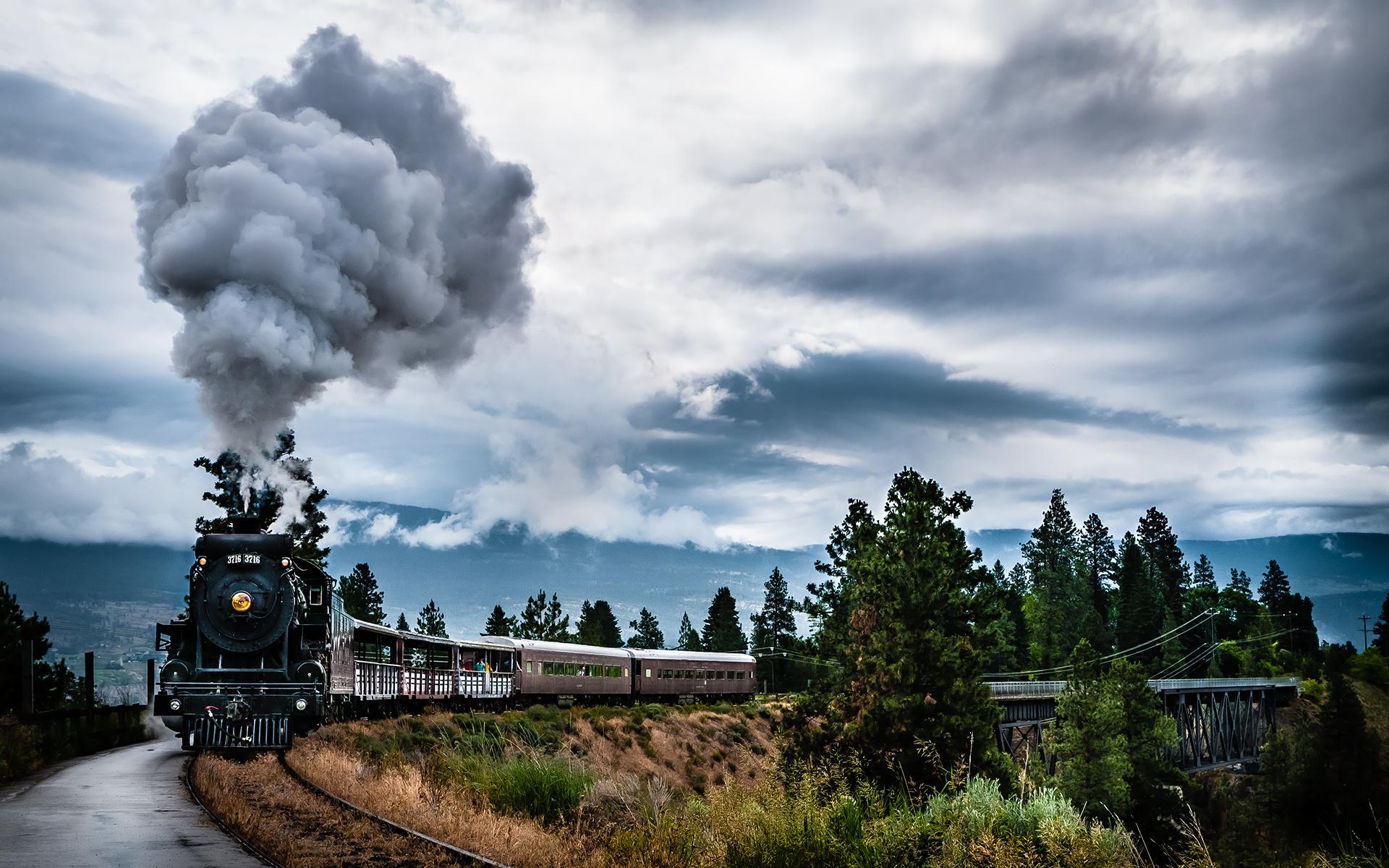Лучшие фотографии поезд — pic 2