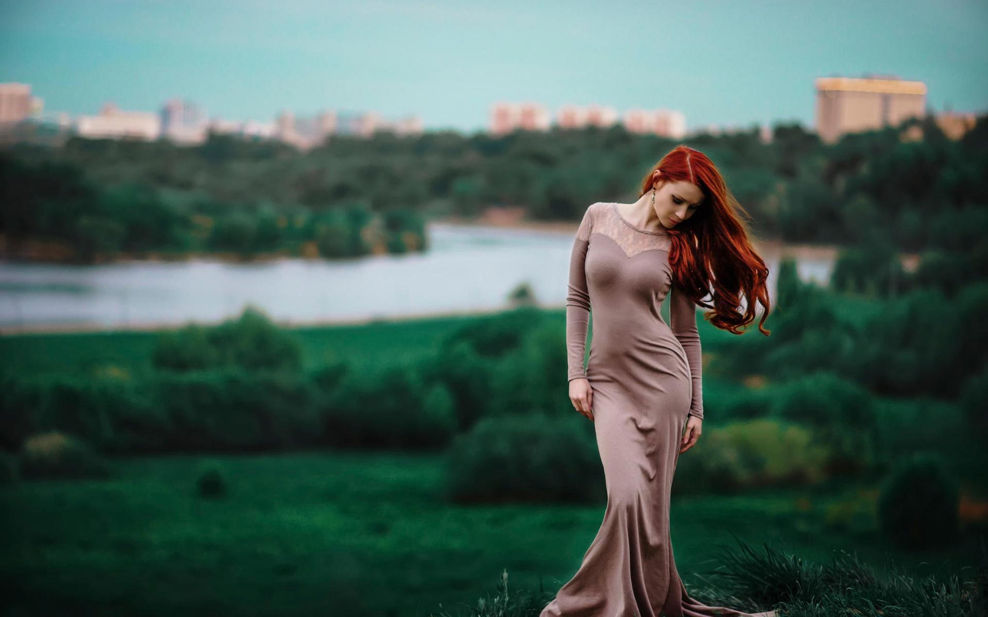 рыжие красотки фото в платьях актеров