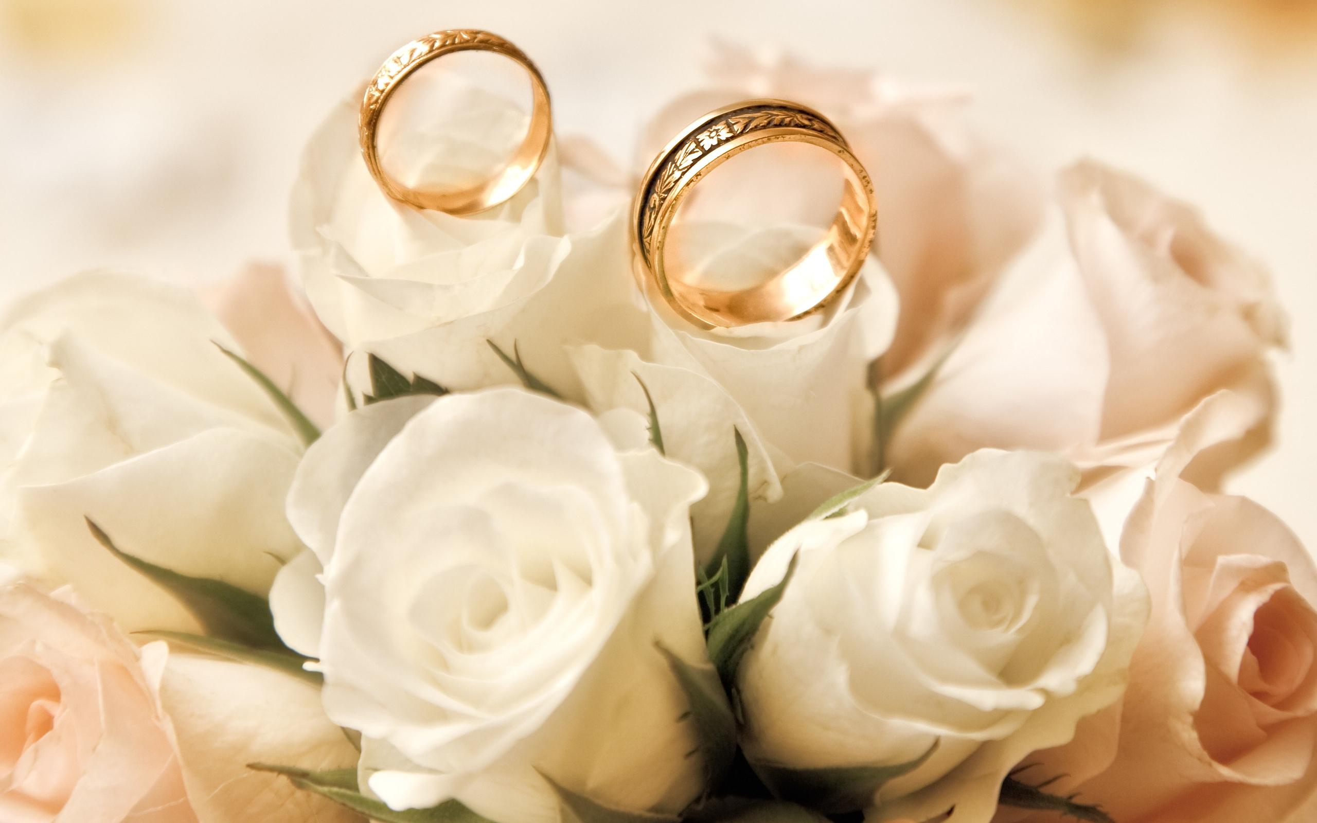 Открытки с цветами и кольцо