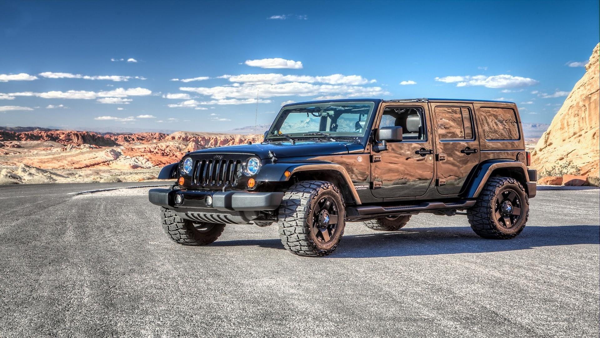 Внедорожник jeep в пустыне онлайн