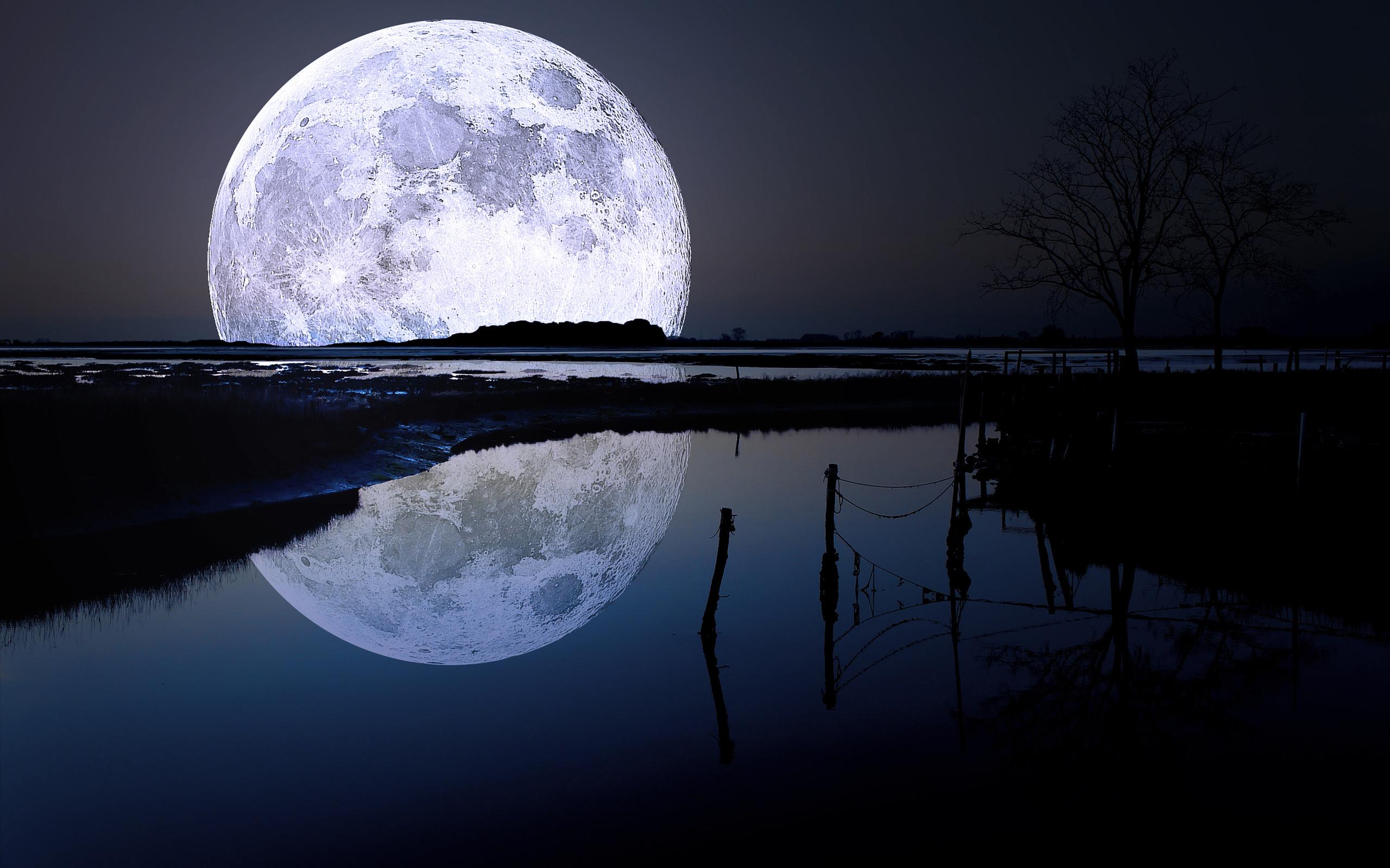 Картинка с луной