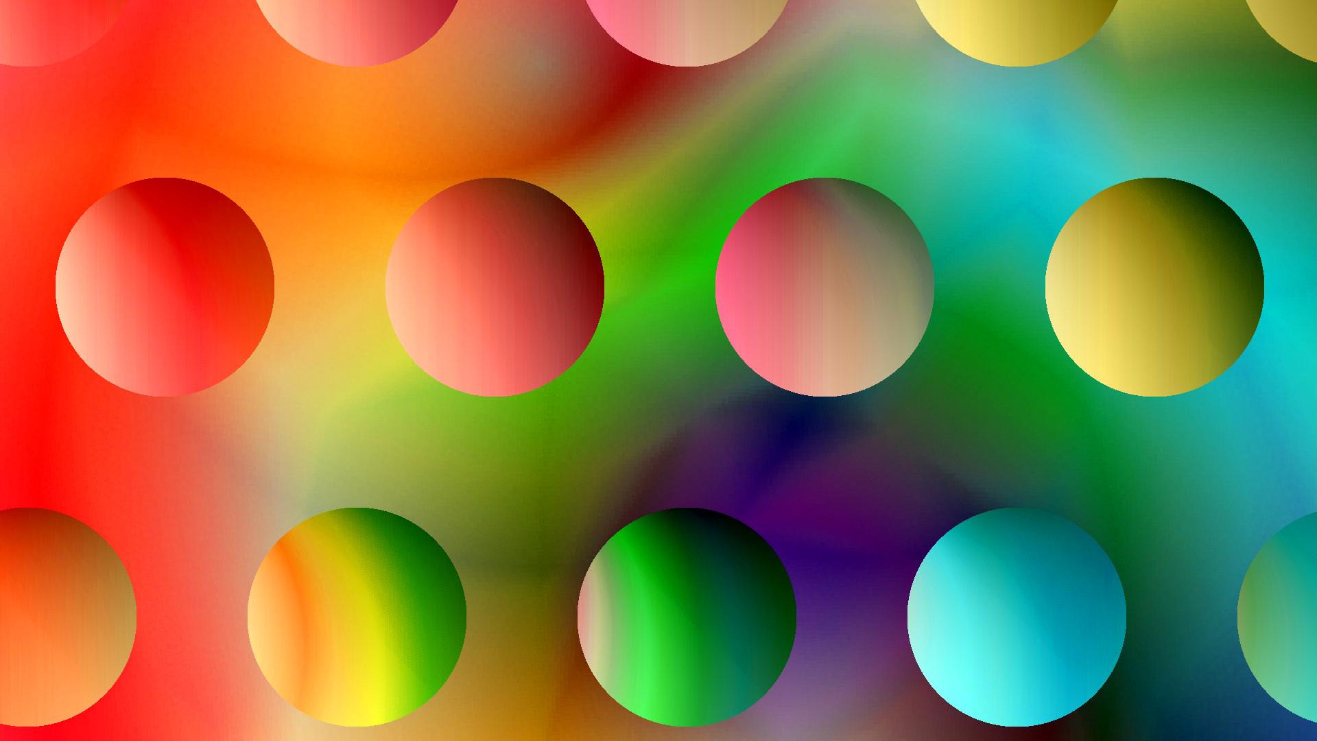 Днем рождения, картинки с кругами и шарами