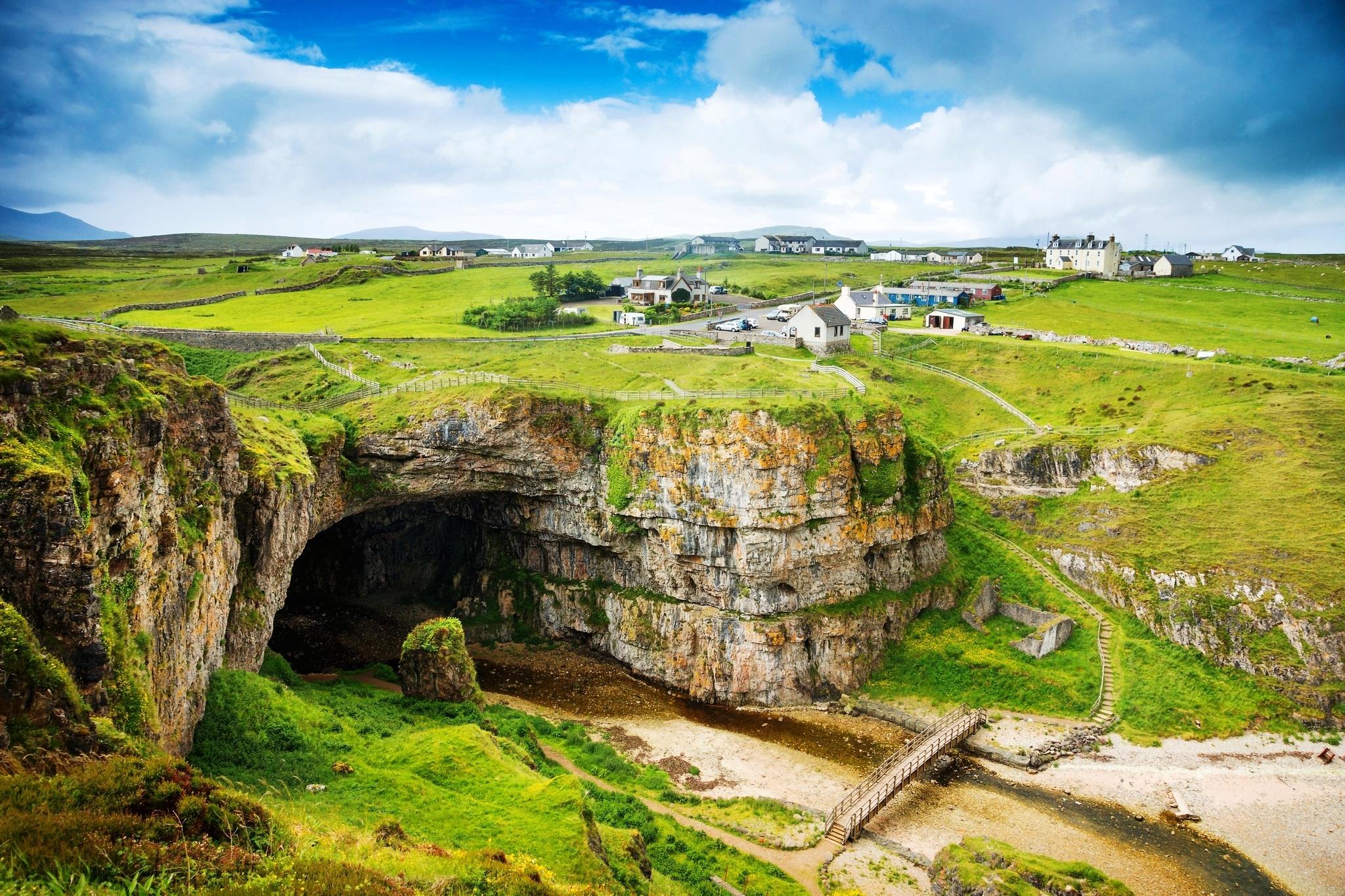 Шотландский каменный забор  № 2453350 без смс