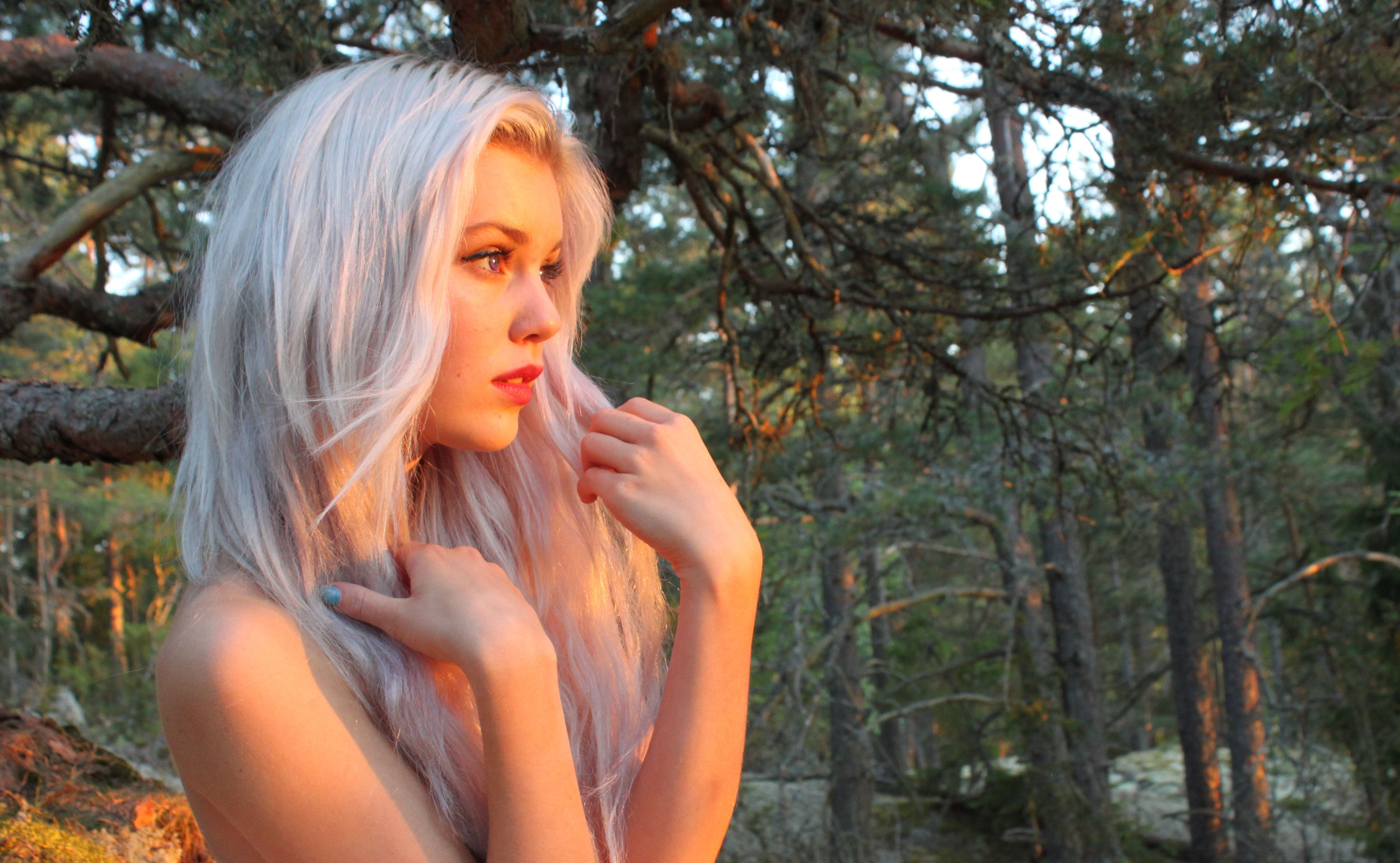 Forest nud girl wallpaper hentay photos