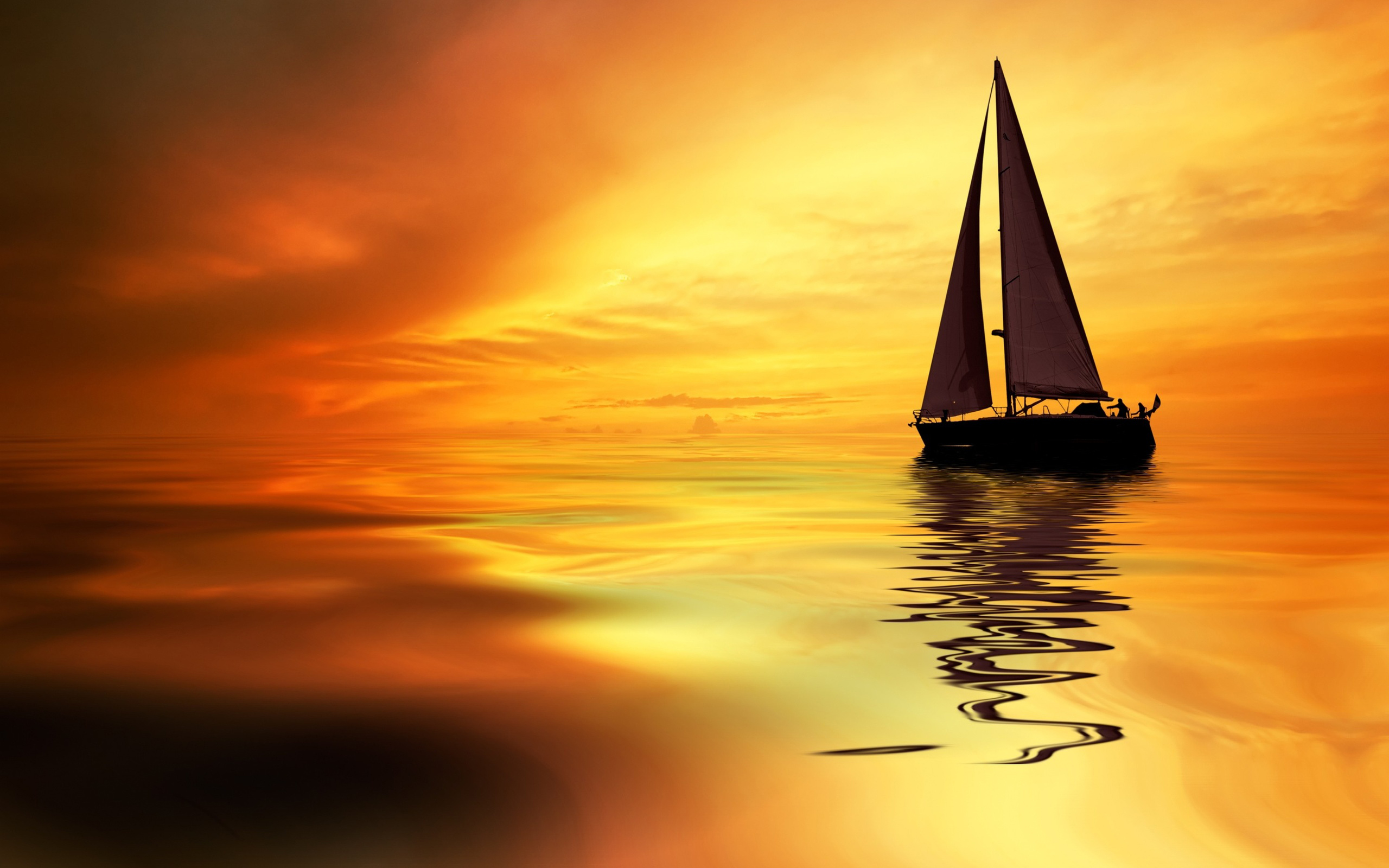 Картинки море яхты солнце