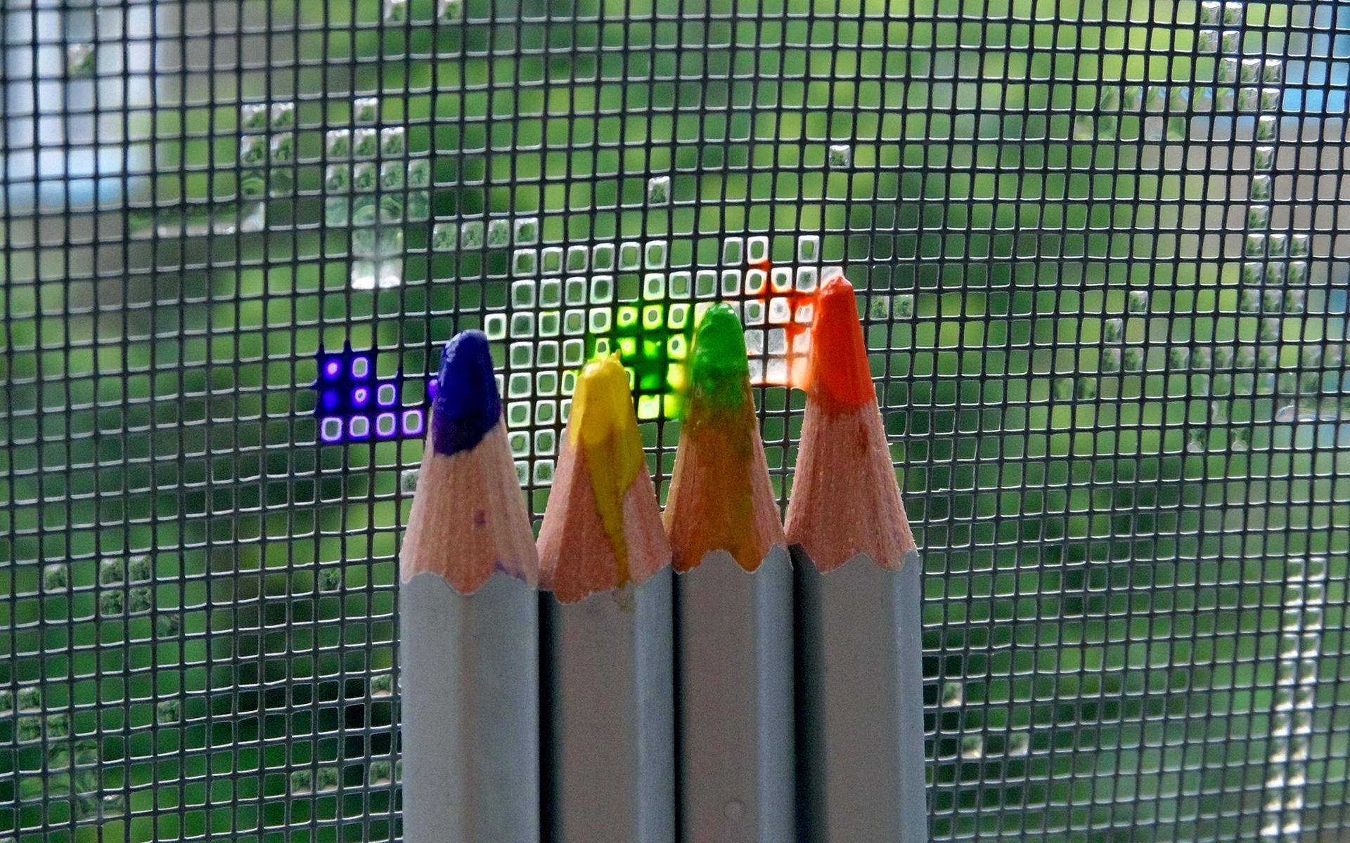 разноцветные карандаши  № 2932015  скачать