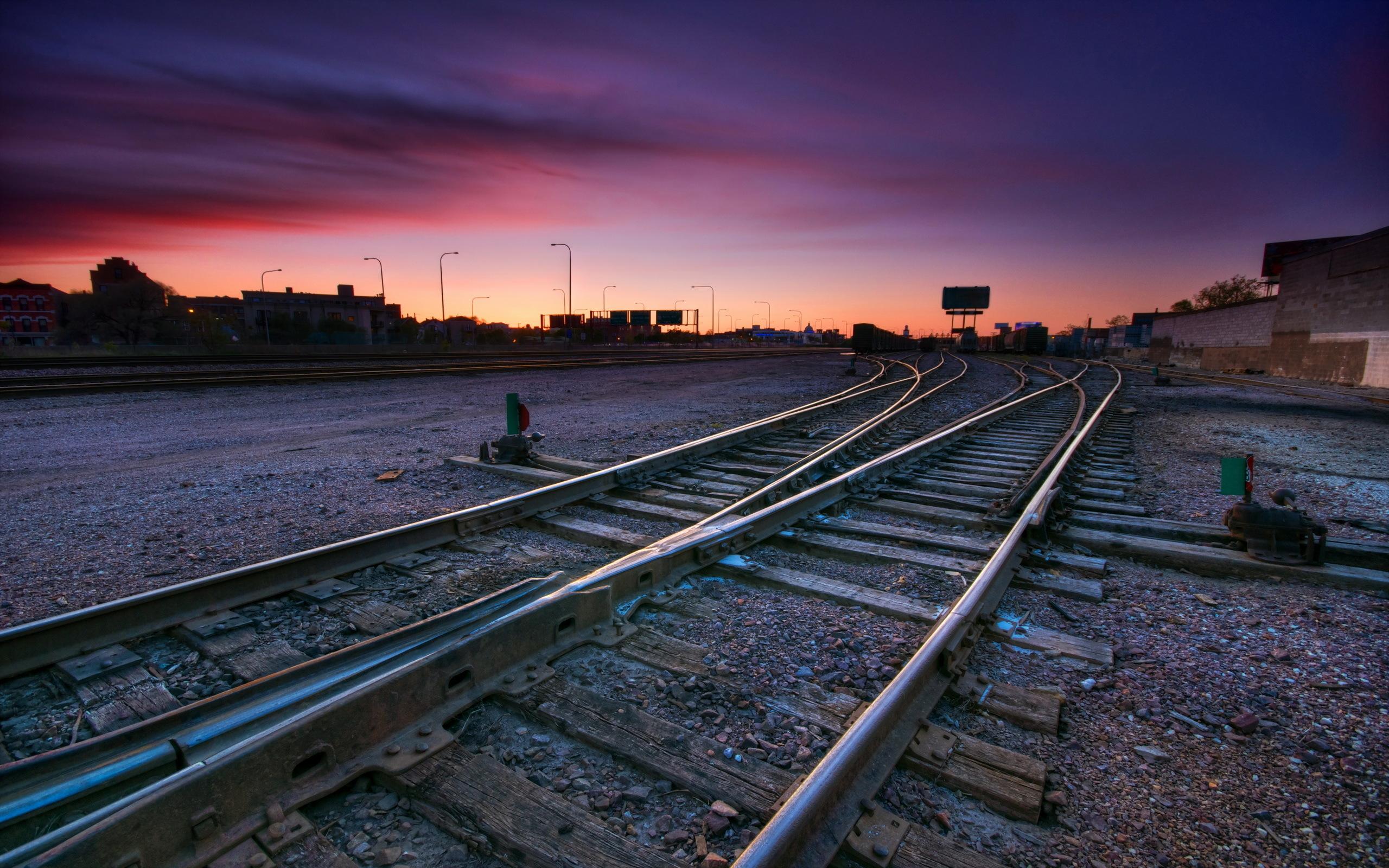 Обои для рабочего стола железнодорожный транспорт