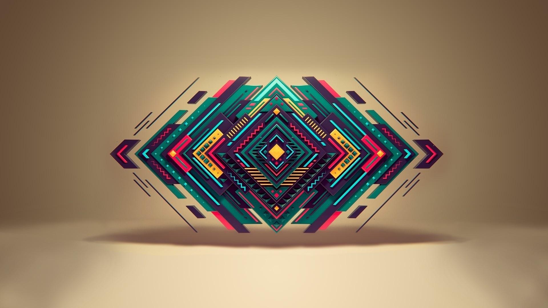 новый геометрия все фото обои