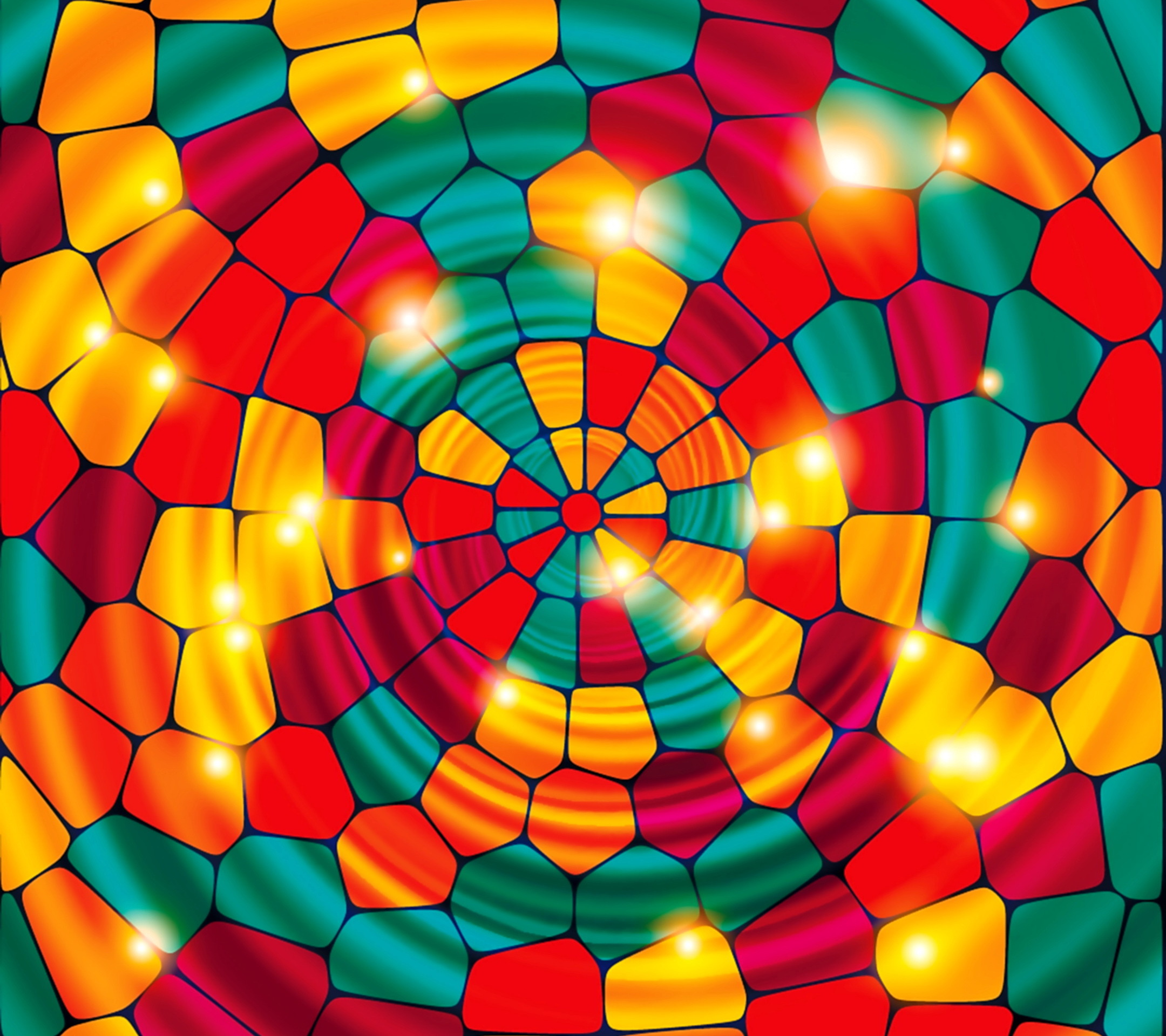 Картинка с мозаикой