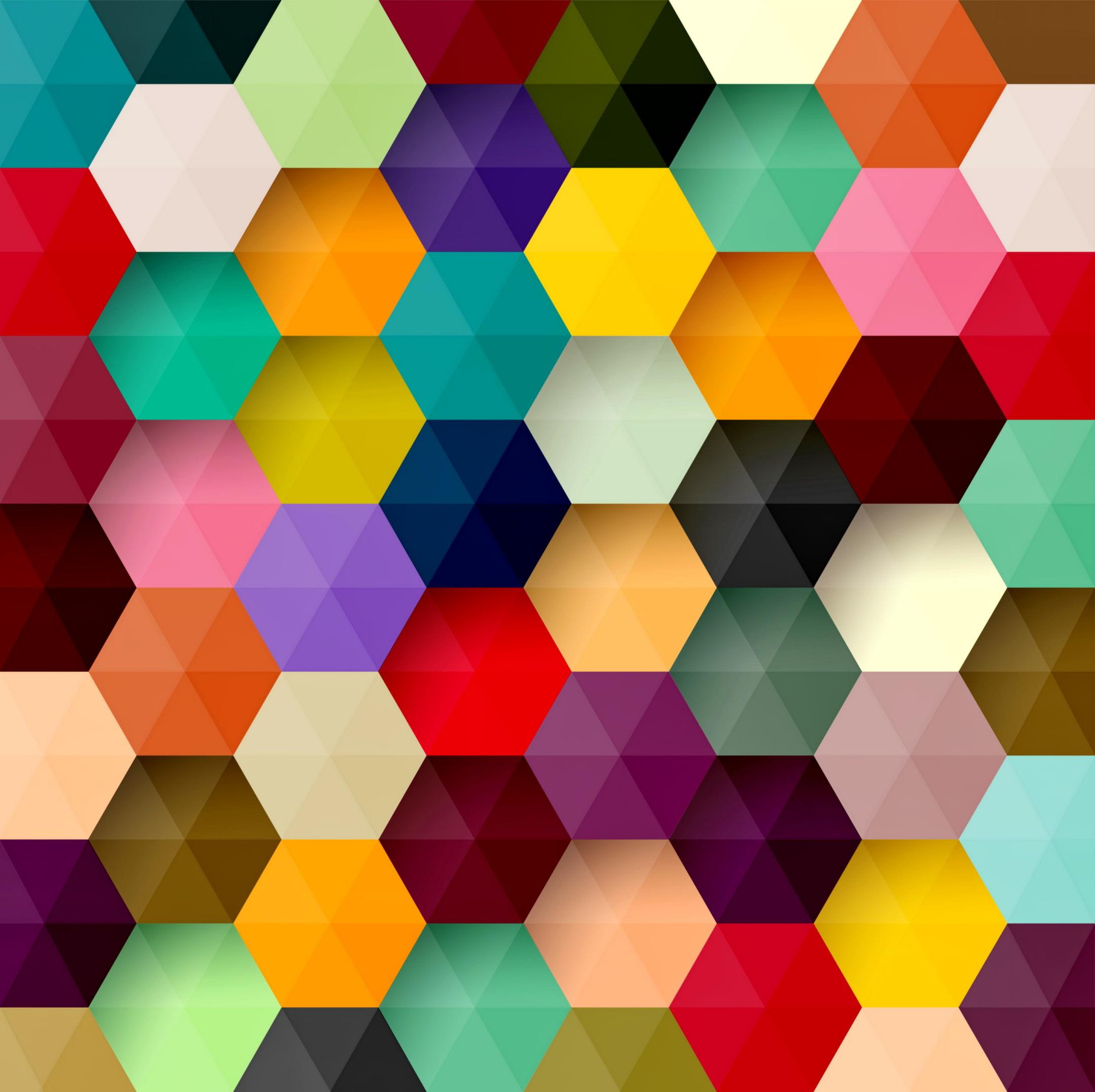 Открытки ручной, геометрические картинки