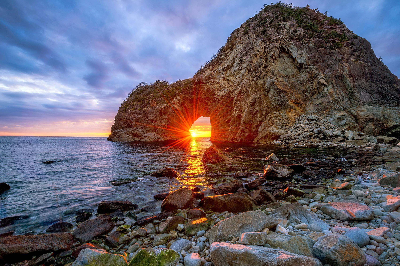 Скалы берег море солнце  № 2719651 без смс