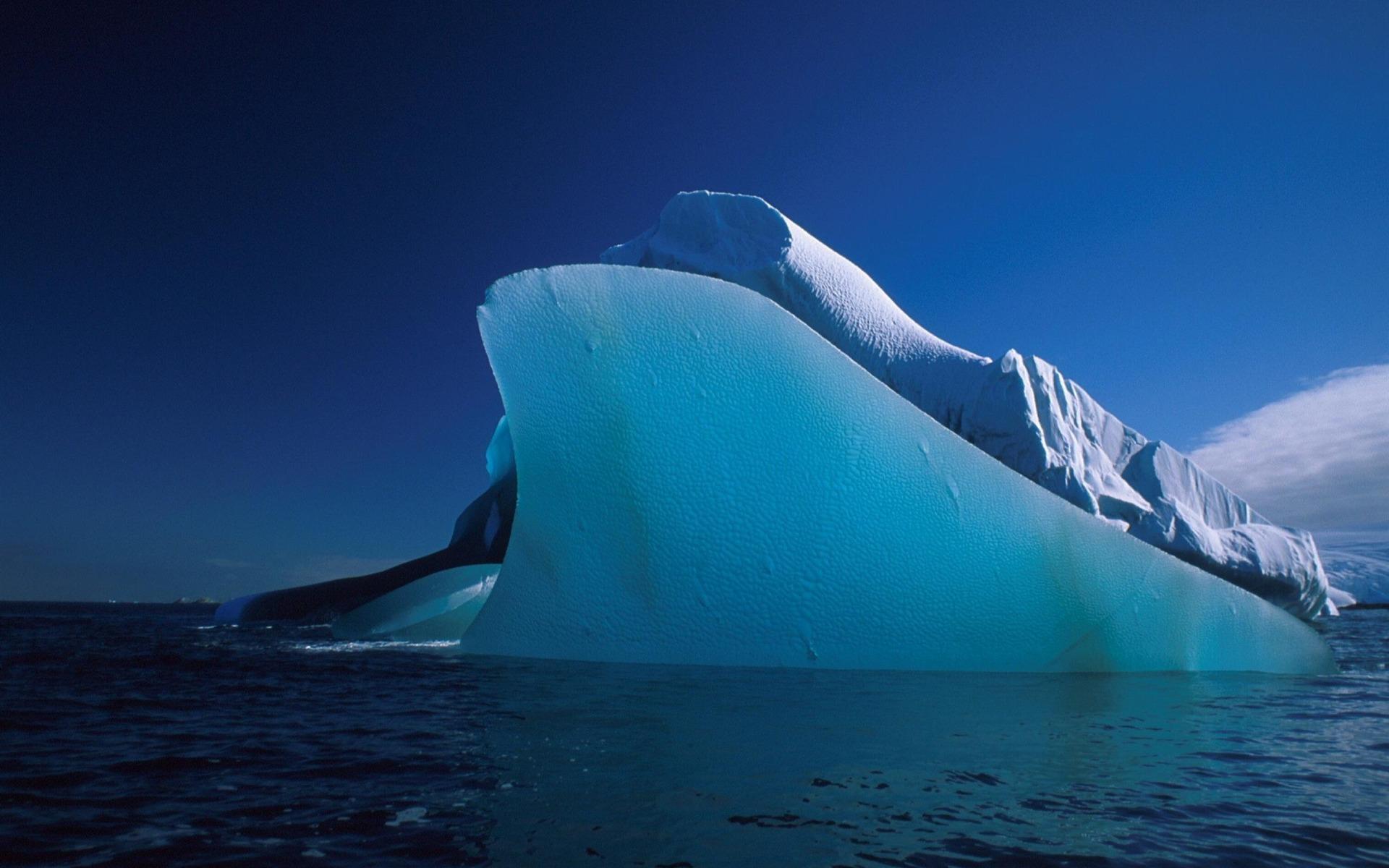 фото высокого разрешения полосатых айсбергов распечатала