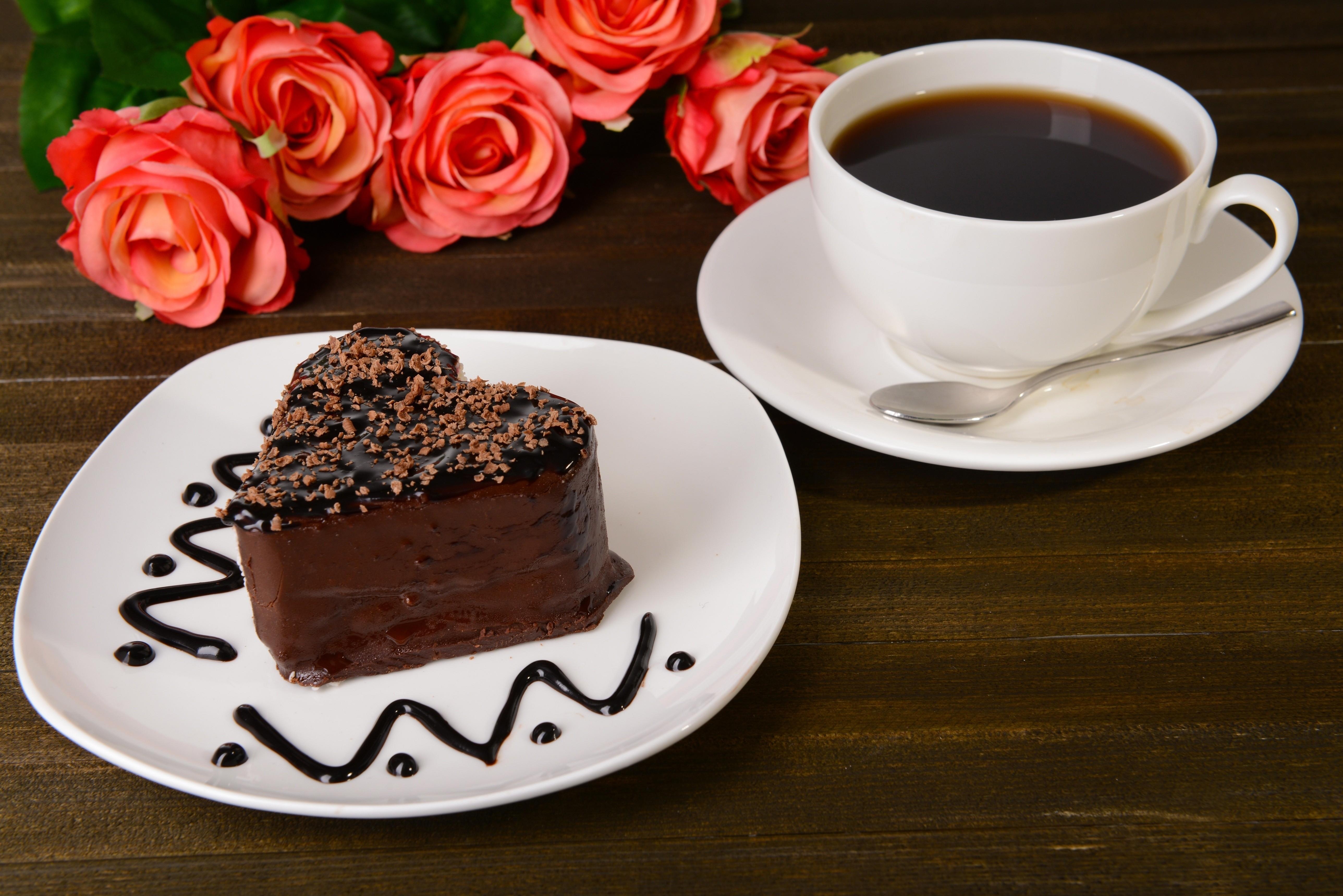 Открытки кофе и шоколад, ночи ежами
