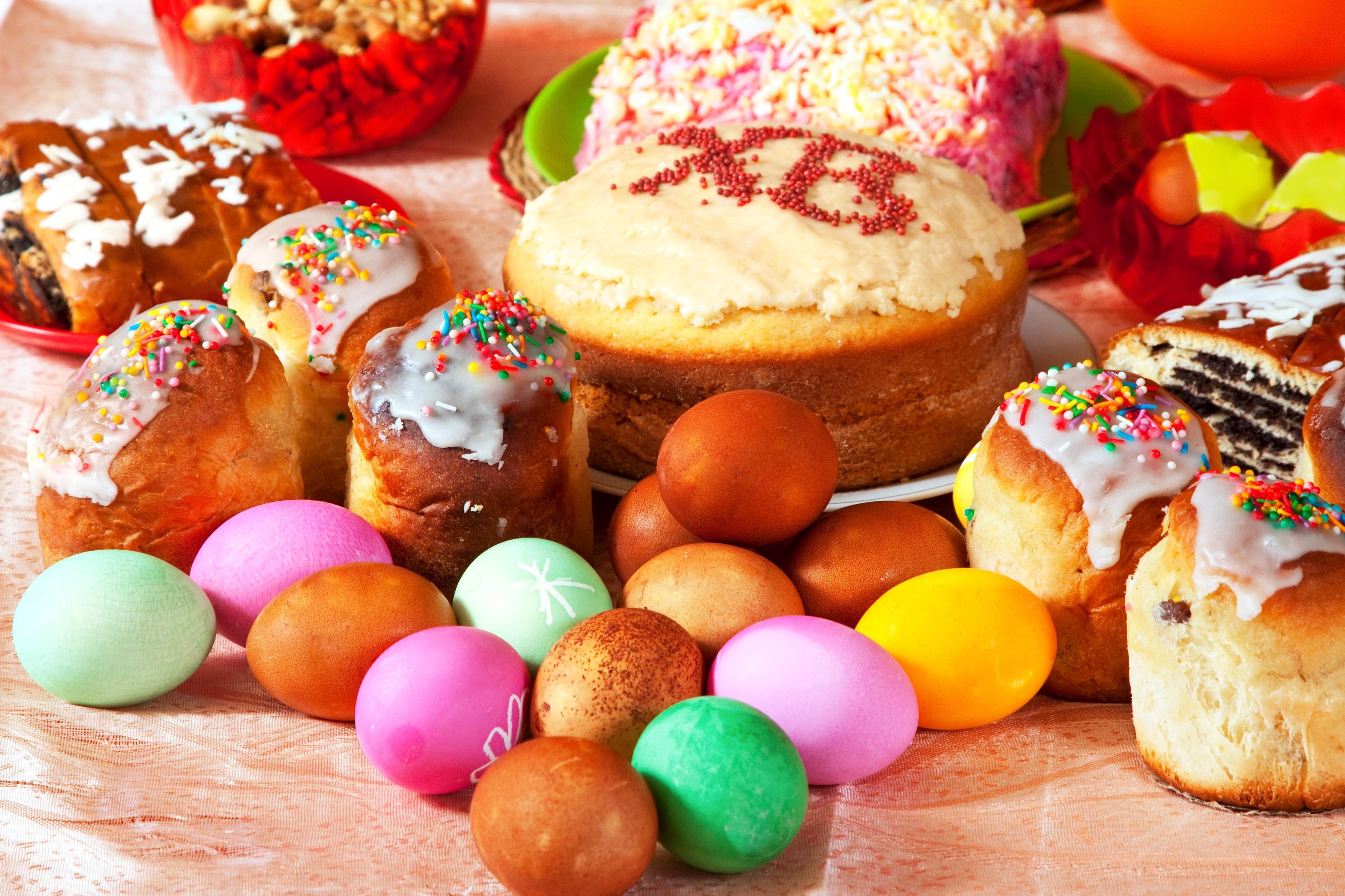 праздник пасха кулич яйца  № 2646747 бесплатно