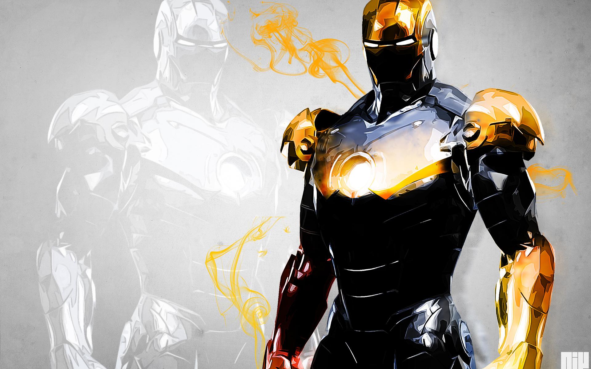железный человек рисунок линии iron man figure line скачать