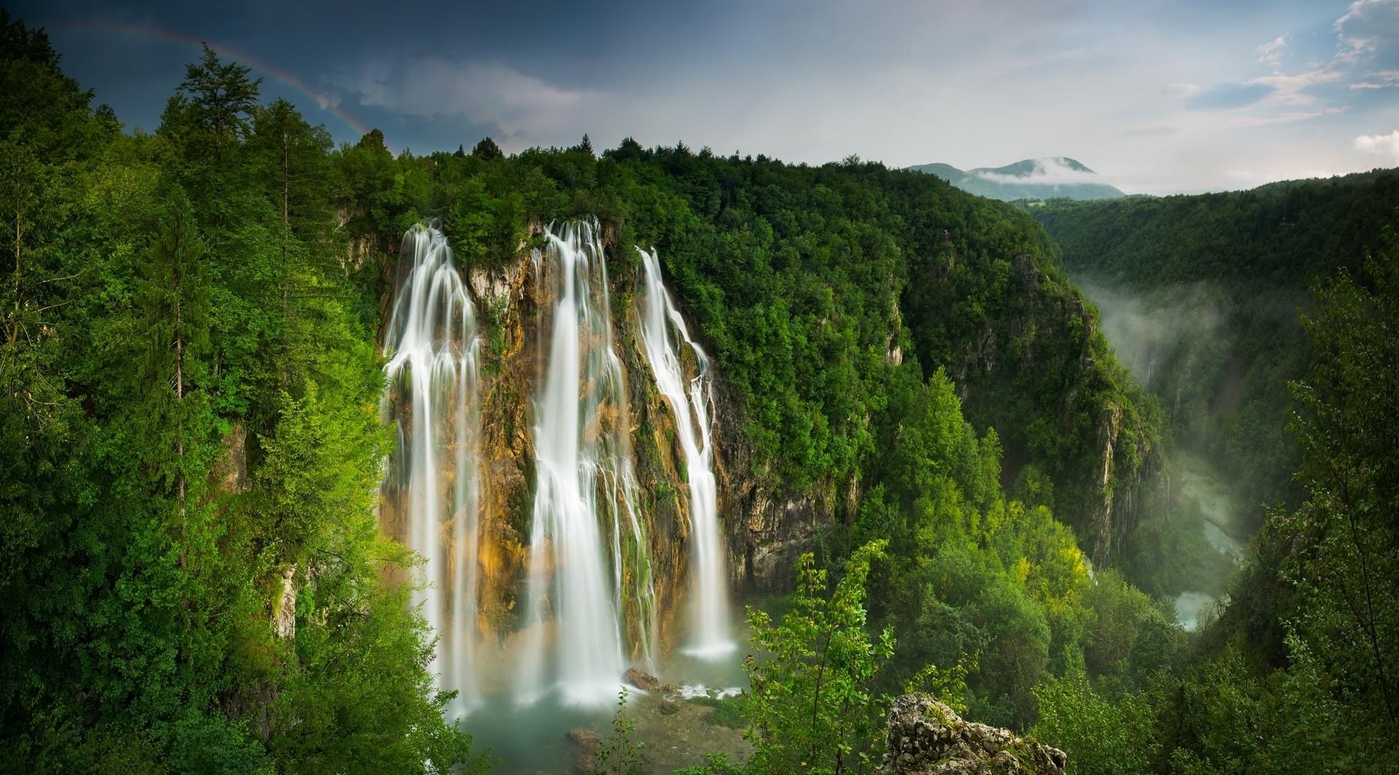 водопад горы  № 2560934  скачать