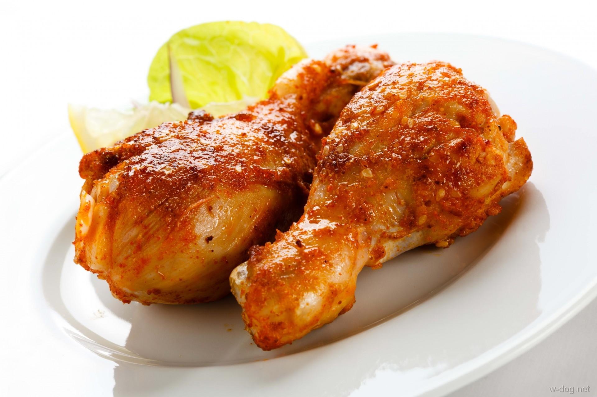 Рецепт голень куриная жареная