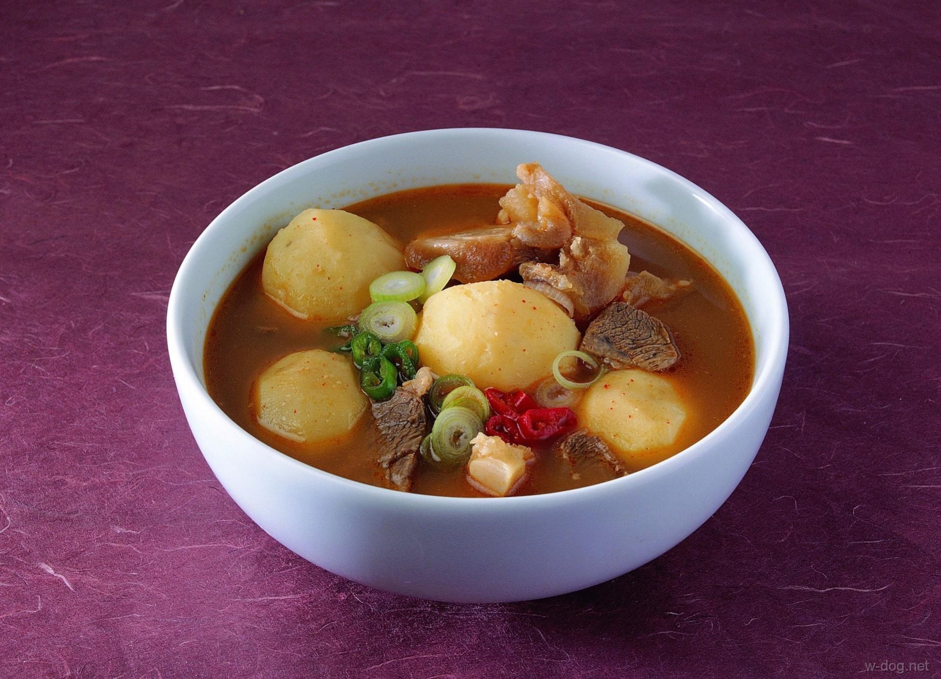 Соус с картошкой и мясом рецепт с пошагово