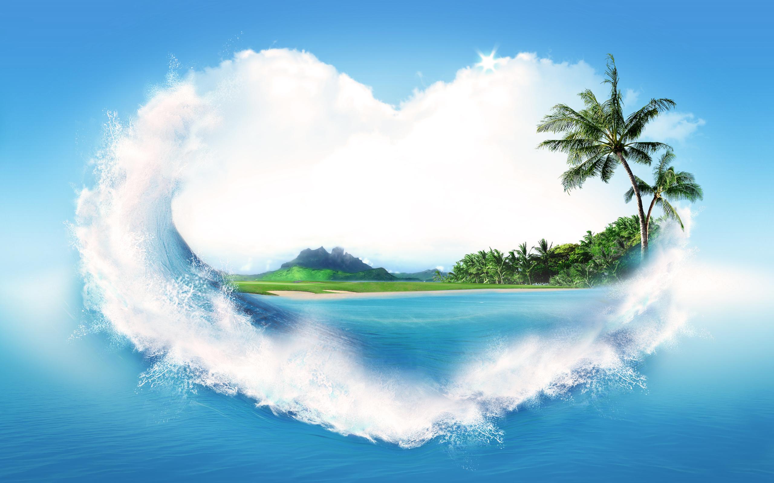 Любимой подруге, красивые открытки о море