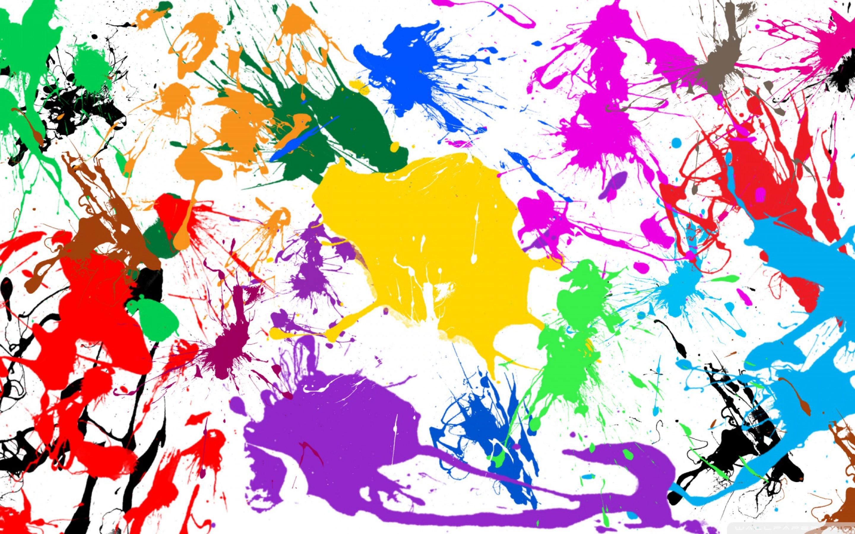 Кляксы цвета случайные без смс