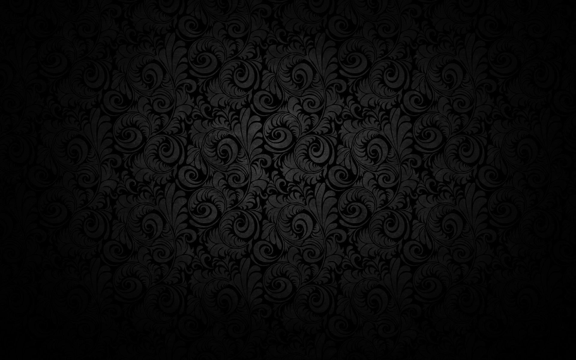 круги узоры темный фон  № 2064642  скачать