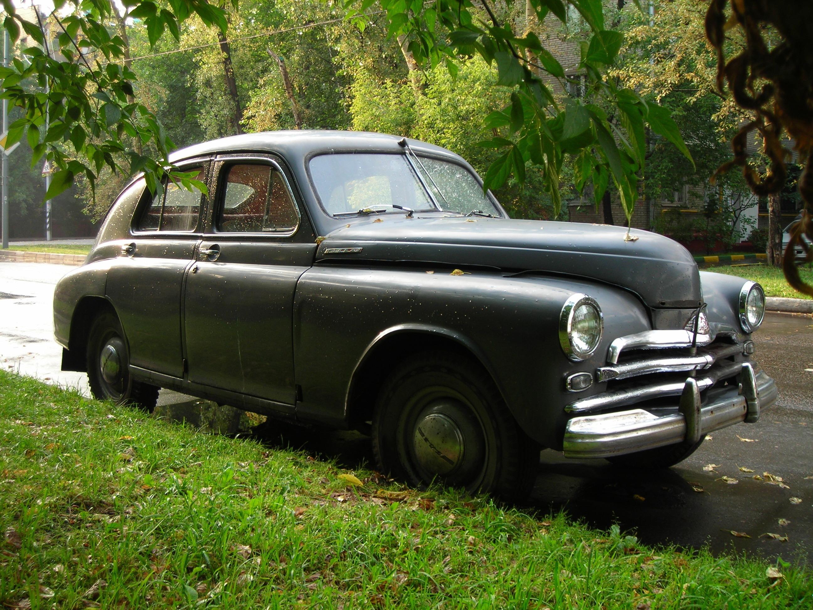 Фото старые советские автомобили упустил
