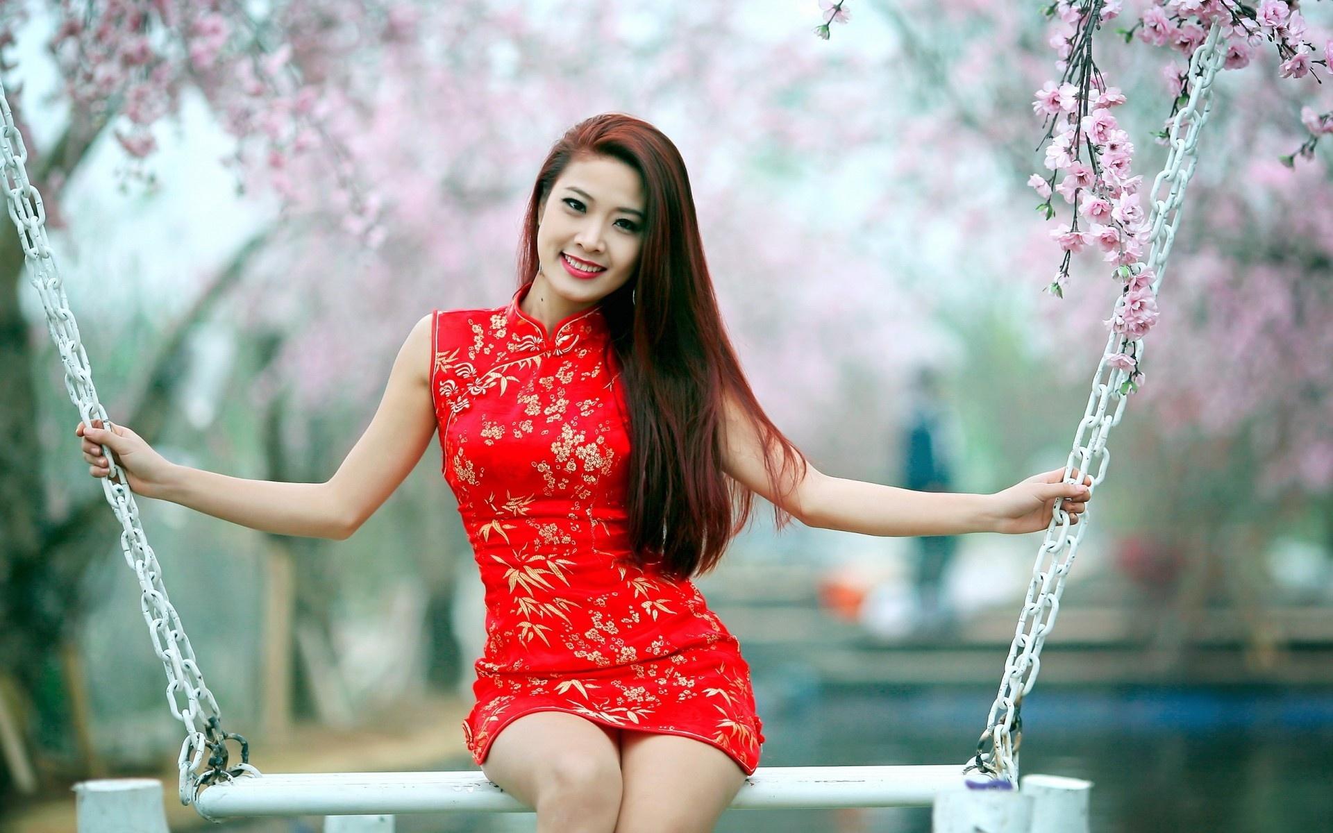 Asian cherry girls made wife