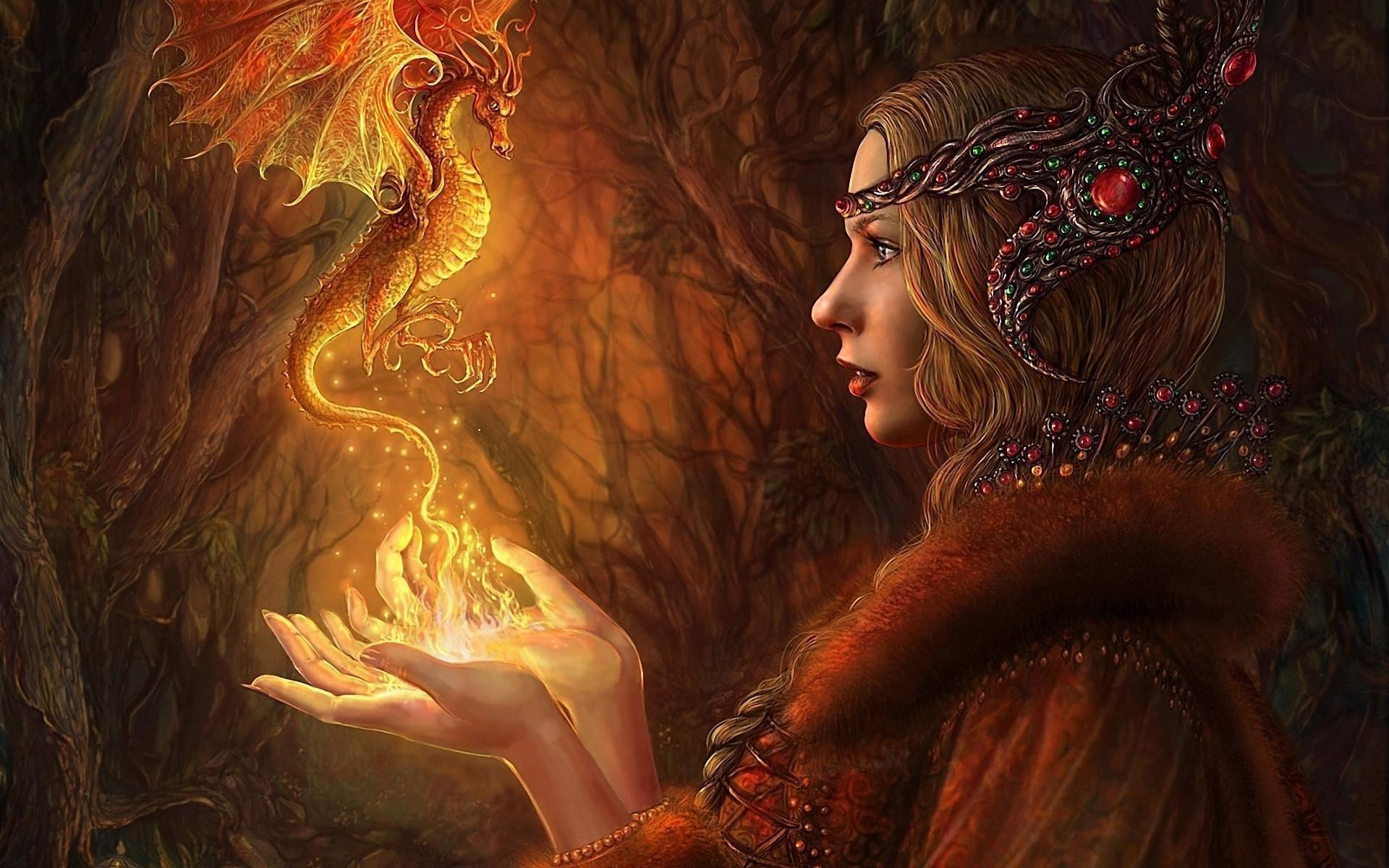 Картинки волшебницы красивой