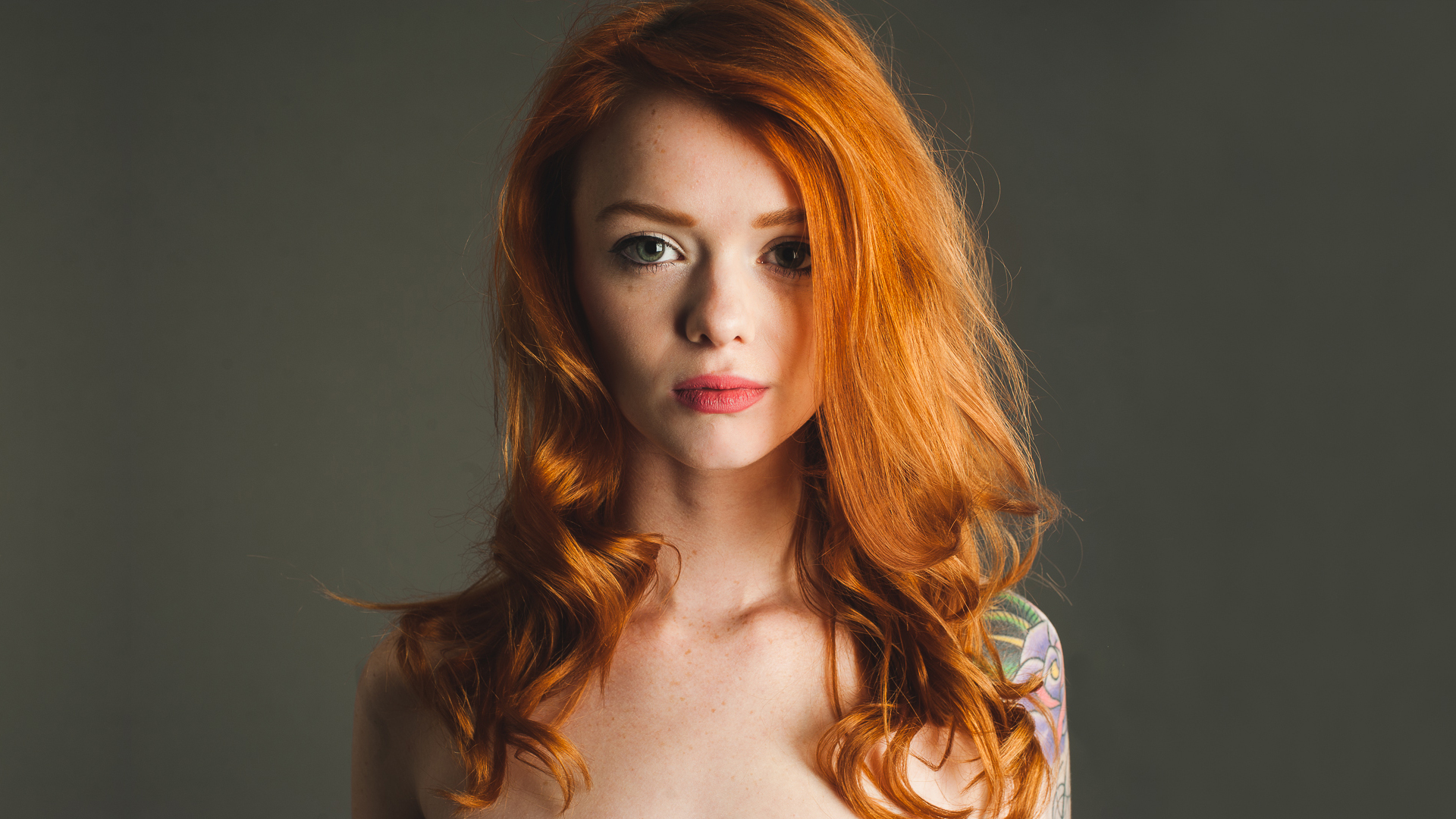 redhead babe can take care of two long cocks  311363