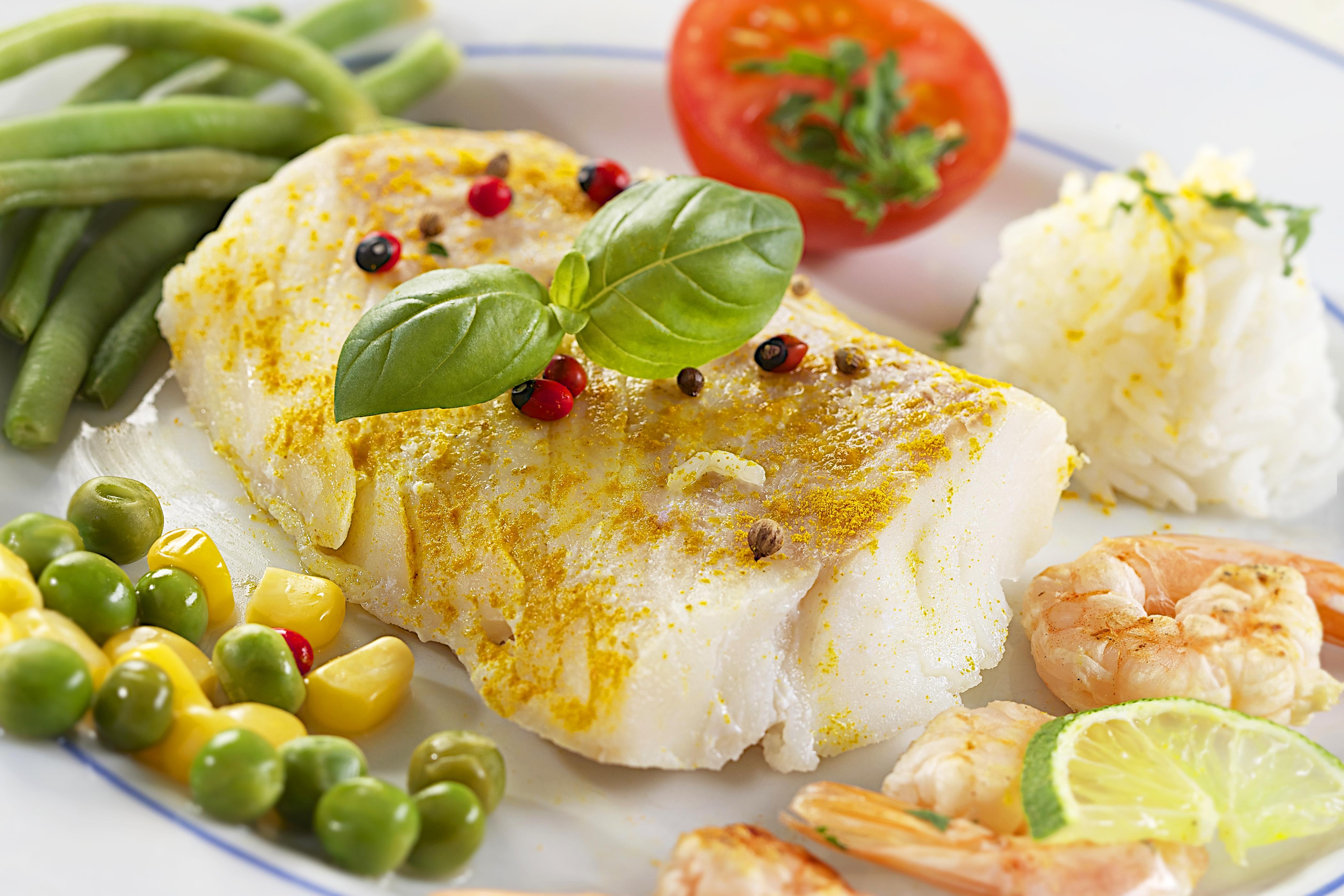 Блюда из рыбы диетический рецепт