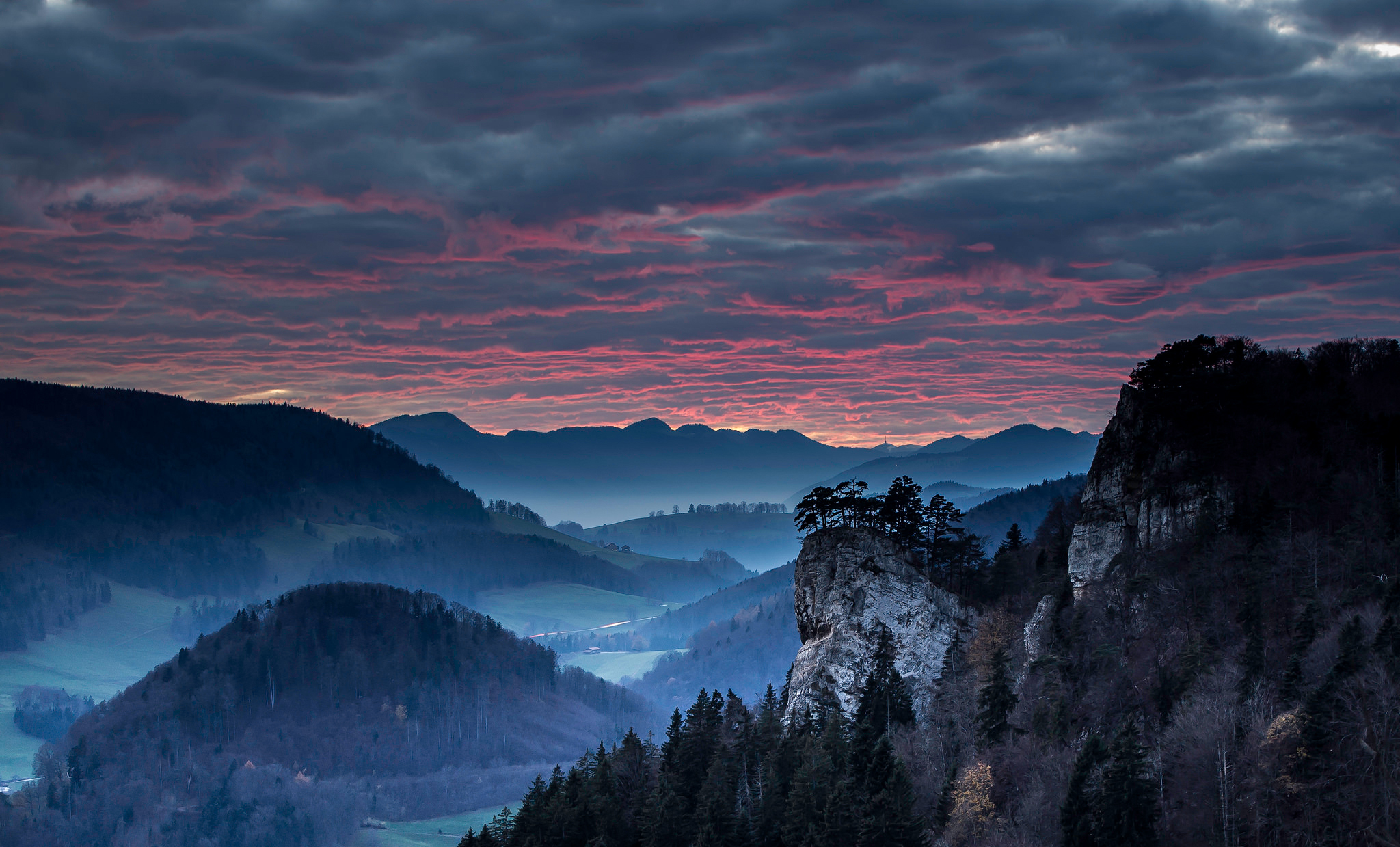 природа солнце горы скалы снег вечер загрузить