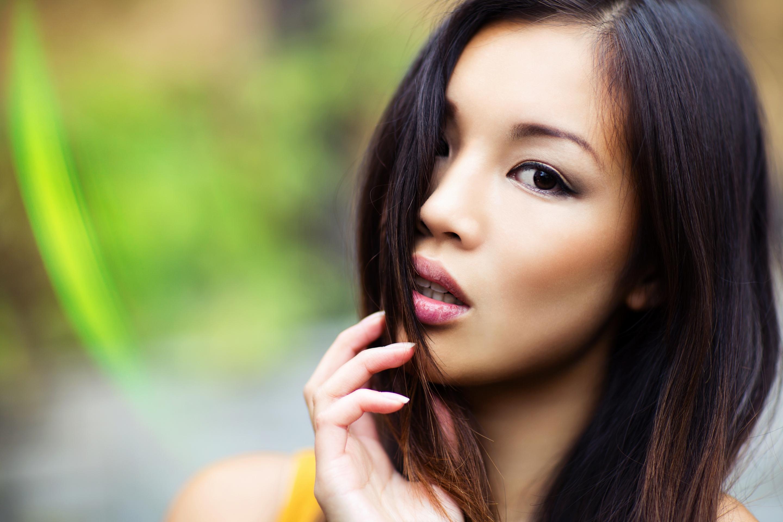 Глаза азиатских девушек фото