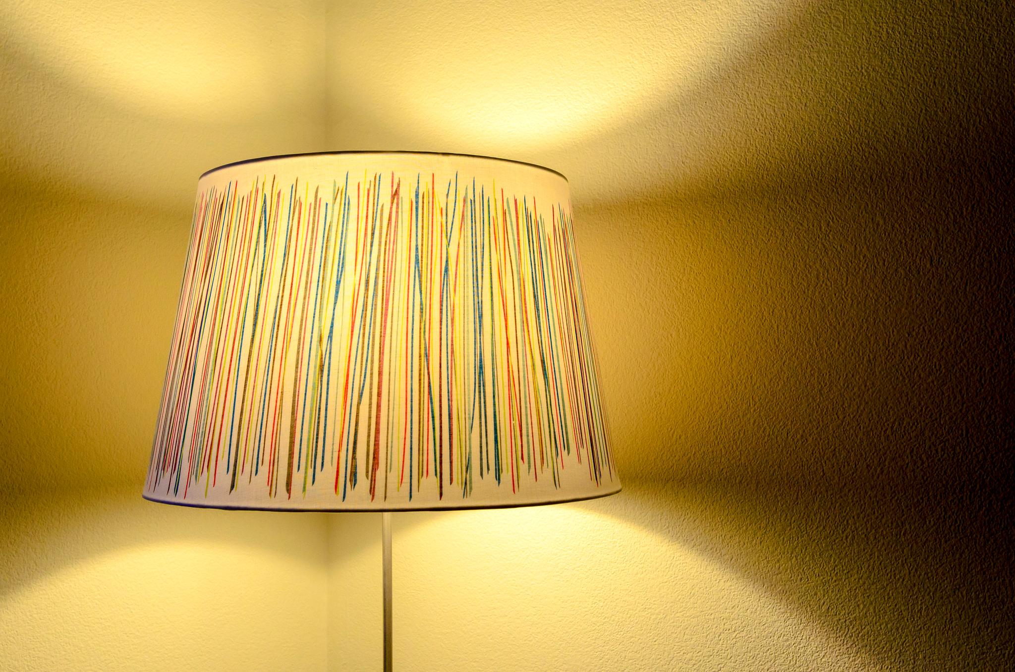 Как сделать абажур на светильник фото