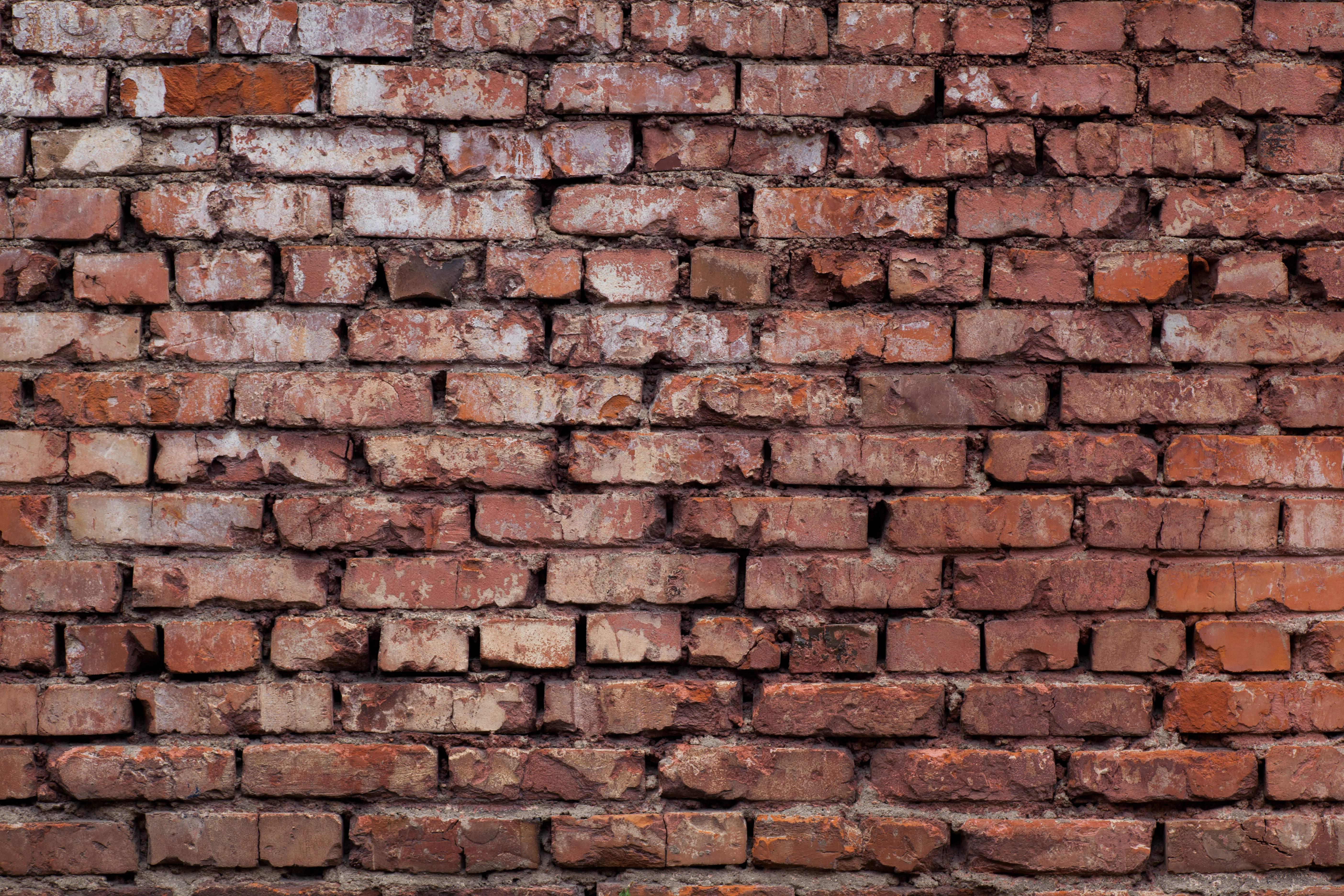 фото высокого разрешения кирпичная стена комод для