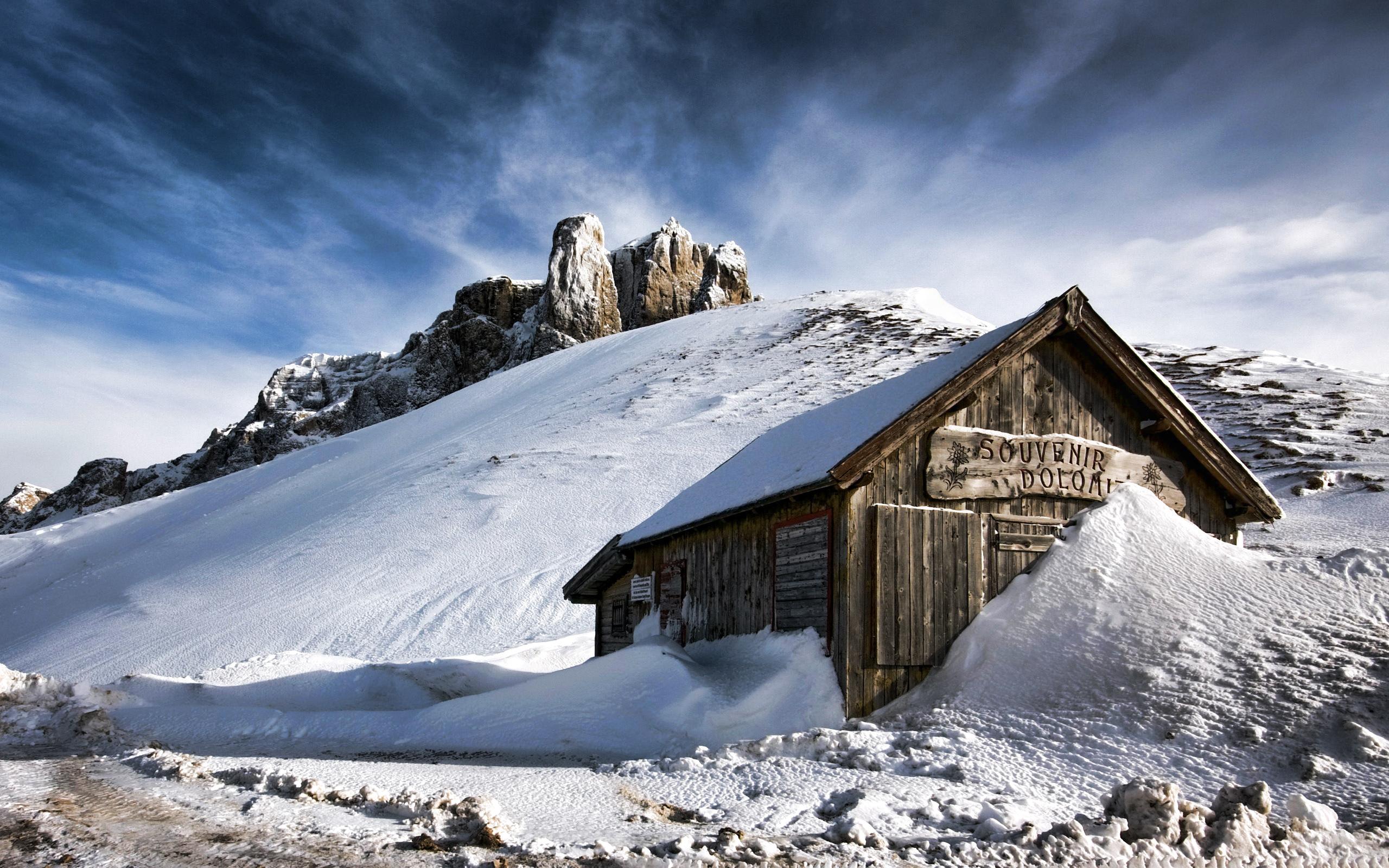 Картинка домика в снегу таких условиях